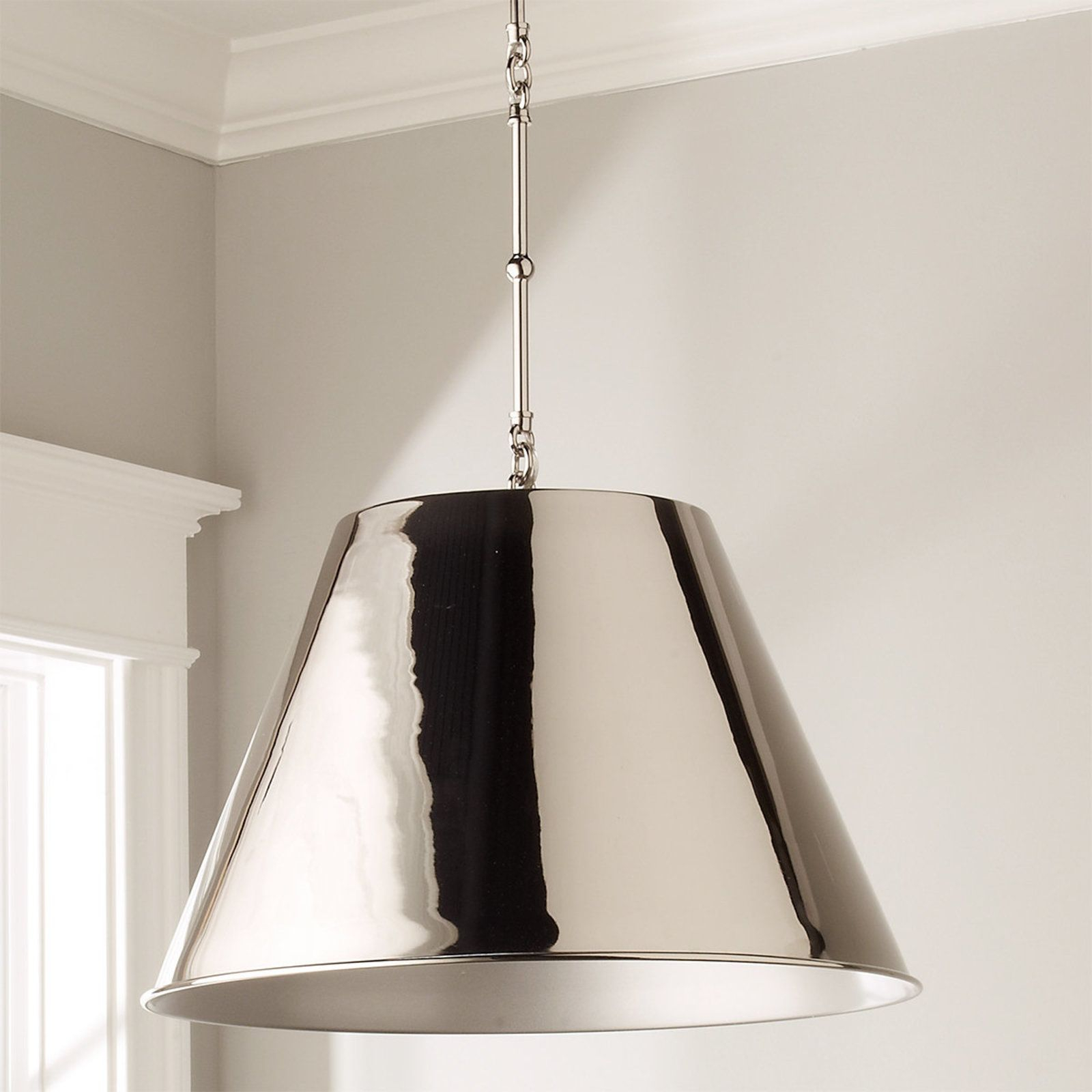 Modern Metal Shade Pendant | Shelly N. | Shades, Metal, Pendants intended for Bainbridge 1-Light Single Cylinder Pendants (Image 21 of 30)