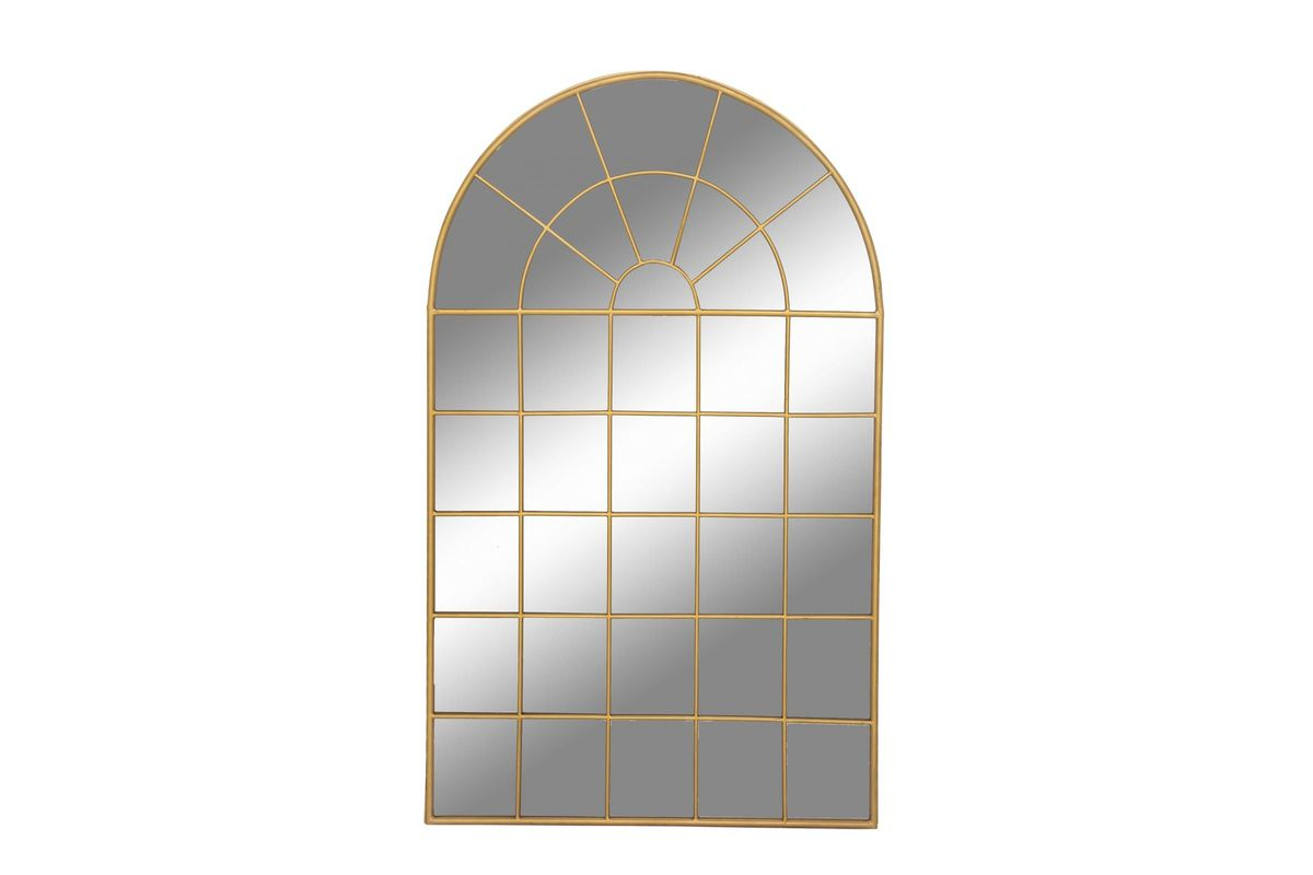 "Modern Reflections 56"" Arched Window Style Wall Mirroruma Intended For Gold Arch Wall Mirrors (View 23 of 30)"