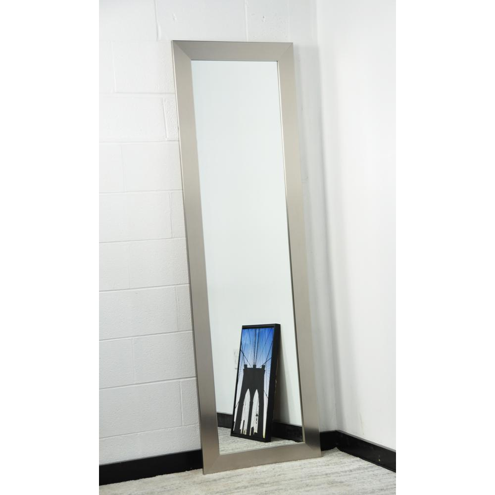 Modern Silver Full Length Mirror within Modern & Contemporary Full Length Mirrors (Image 22 of 30)