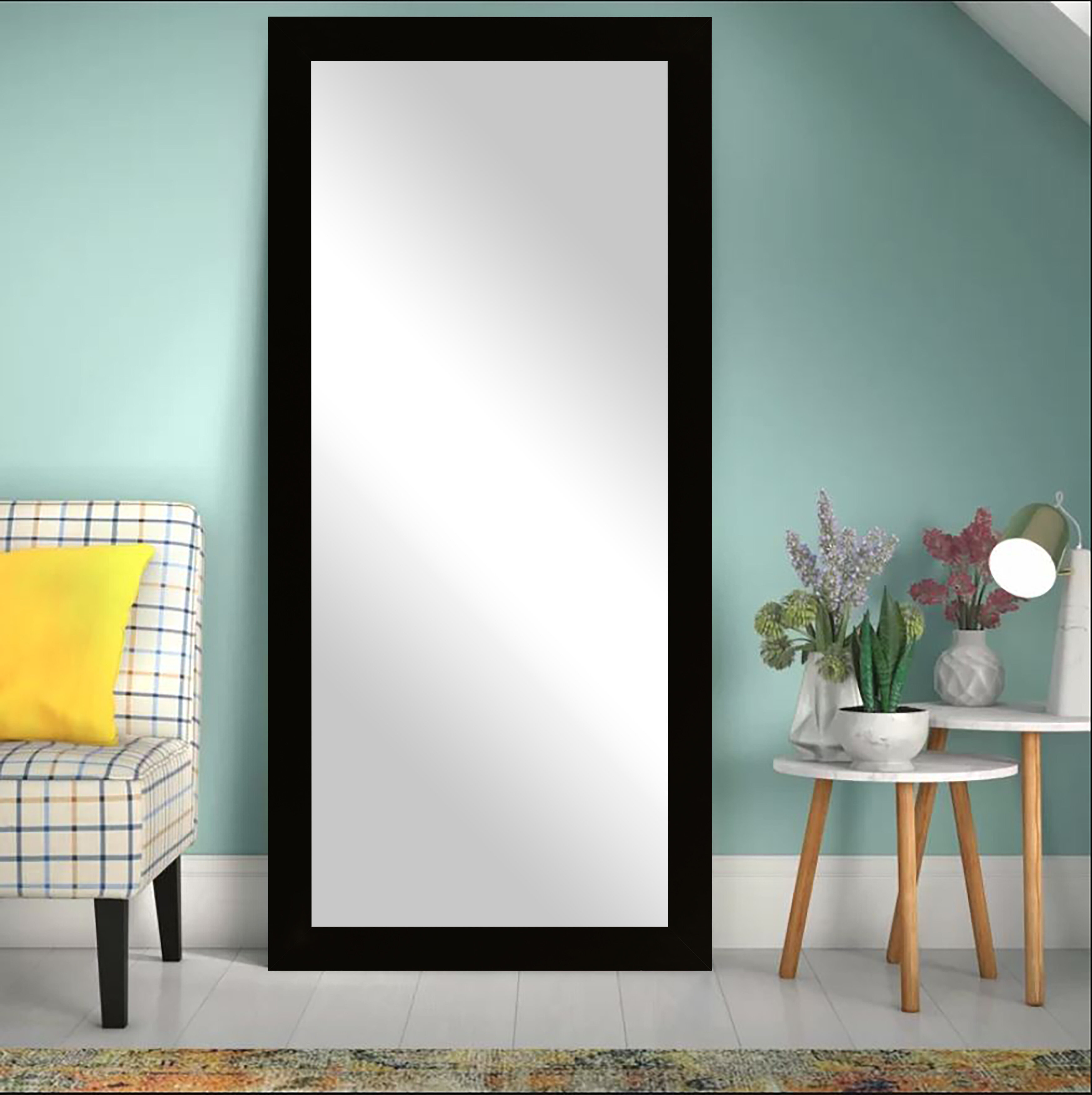 Modern Silver Wall Mirrors | Allmodern Inside Lake Park Beveled Beaded Accent Wall Mirrors (View 17 of 30)