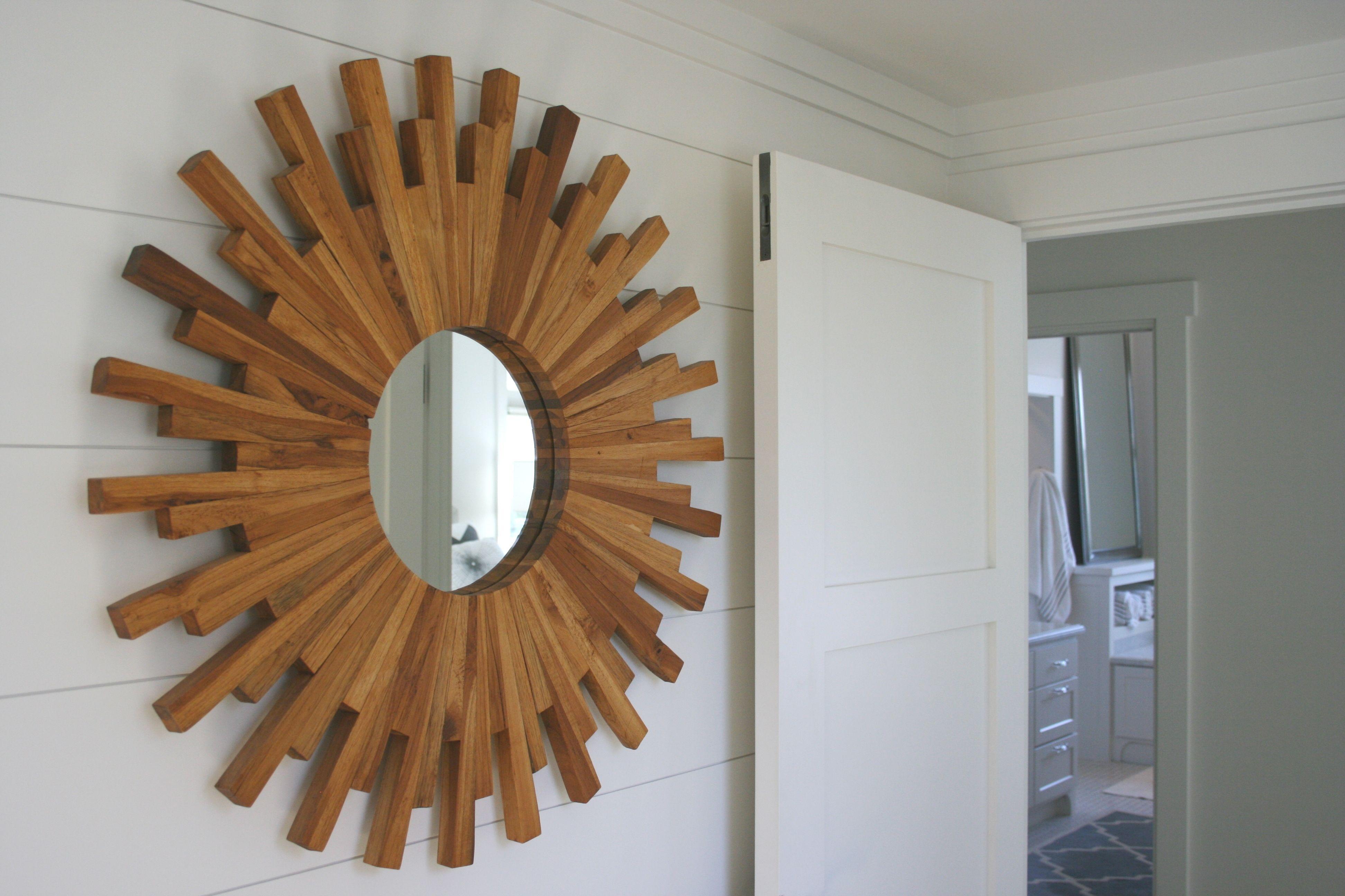 Modern Sunburst Mirror | 2014 Wadsworth Home | Home Intended For Estrela Modern Sunburst Metal Wall Mirrors (View 13 of 30)