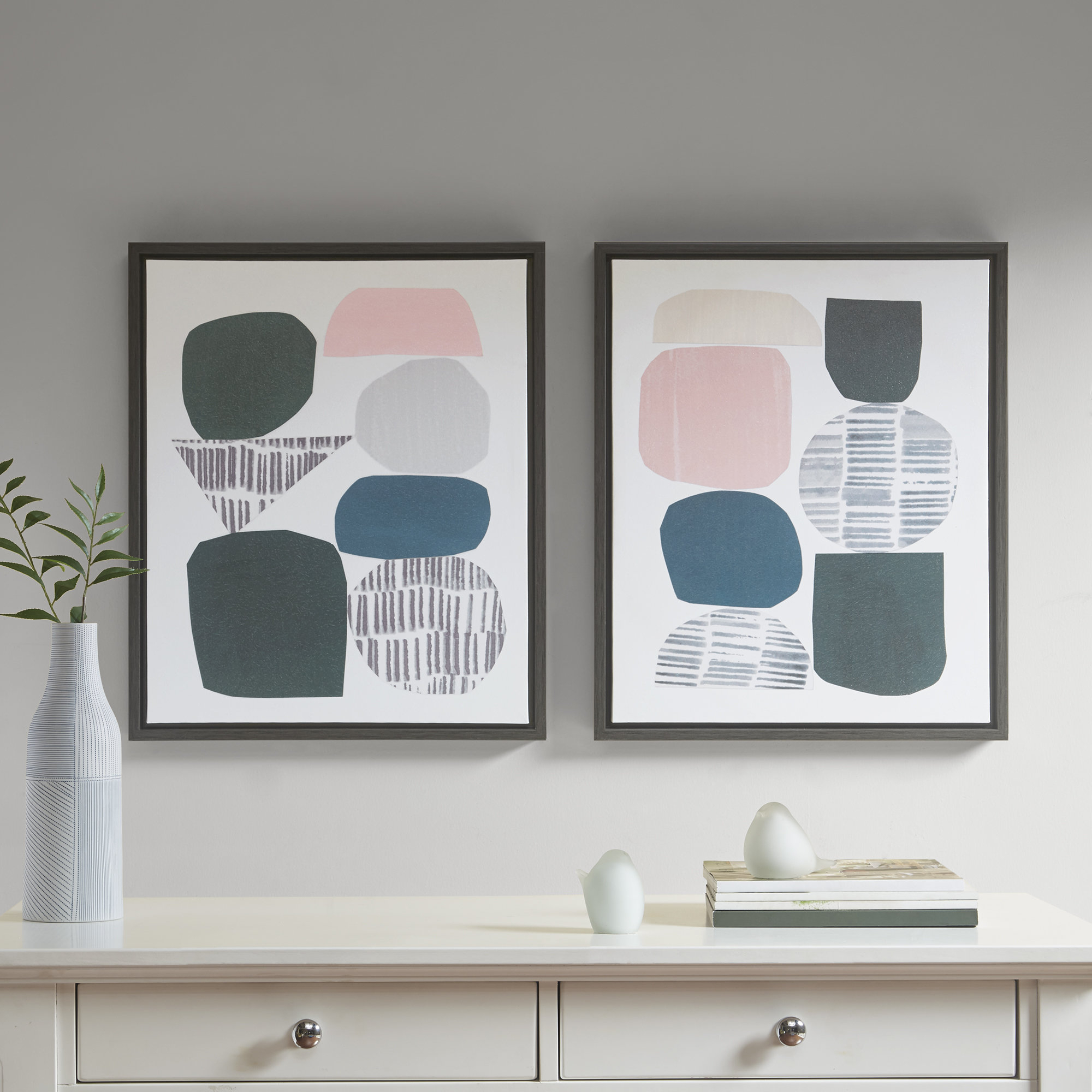 Modern Wall Art Sets | Allmodern With Regard To Panel Wood Wall Decor Sets (set Of 2) (View 20 of 30)