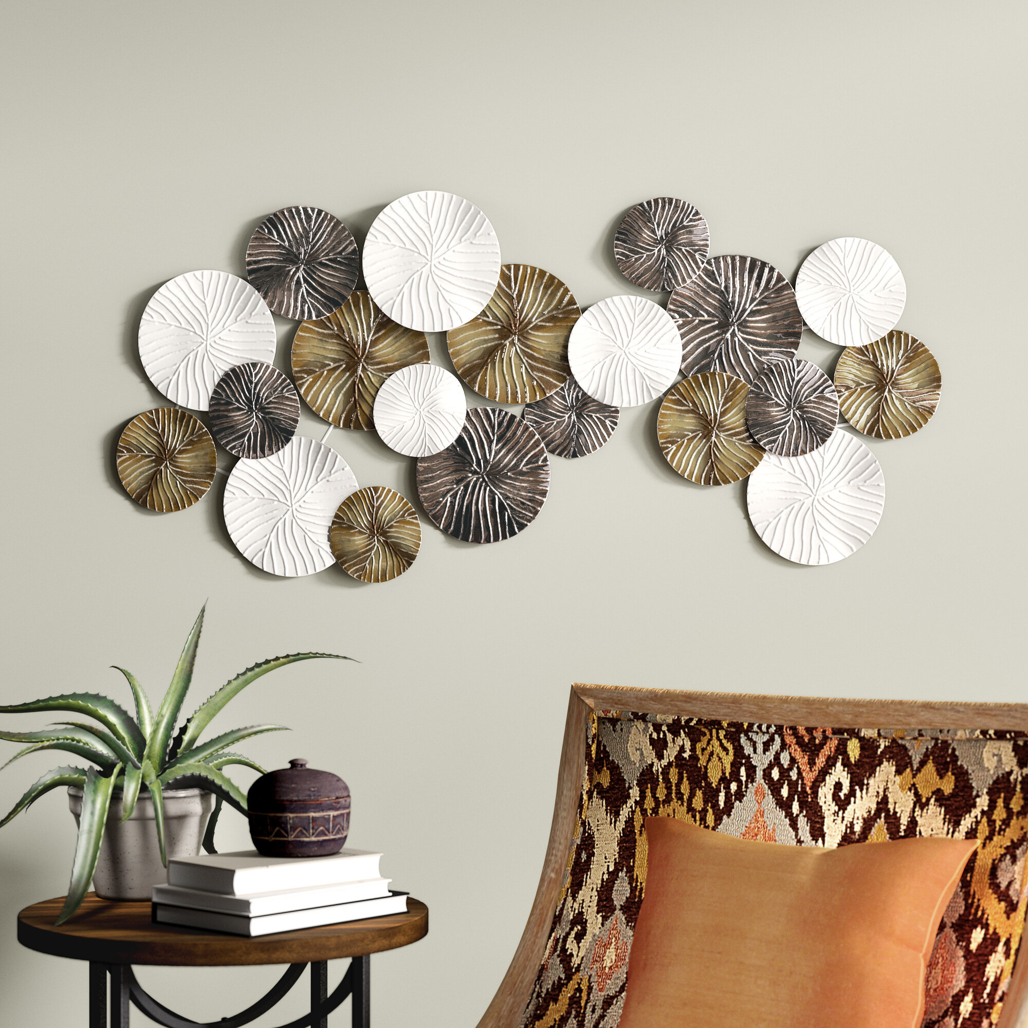 Modern Wall Decor Regarding Wall Decor By World Menagerie (View 12 of 30)