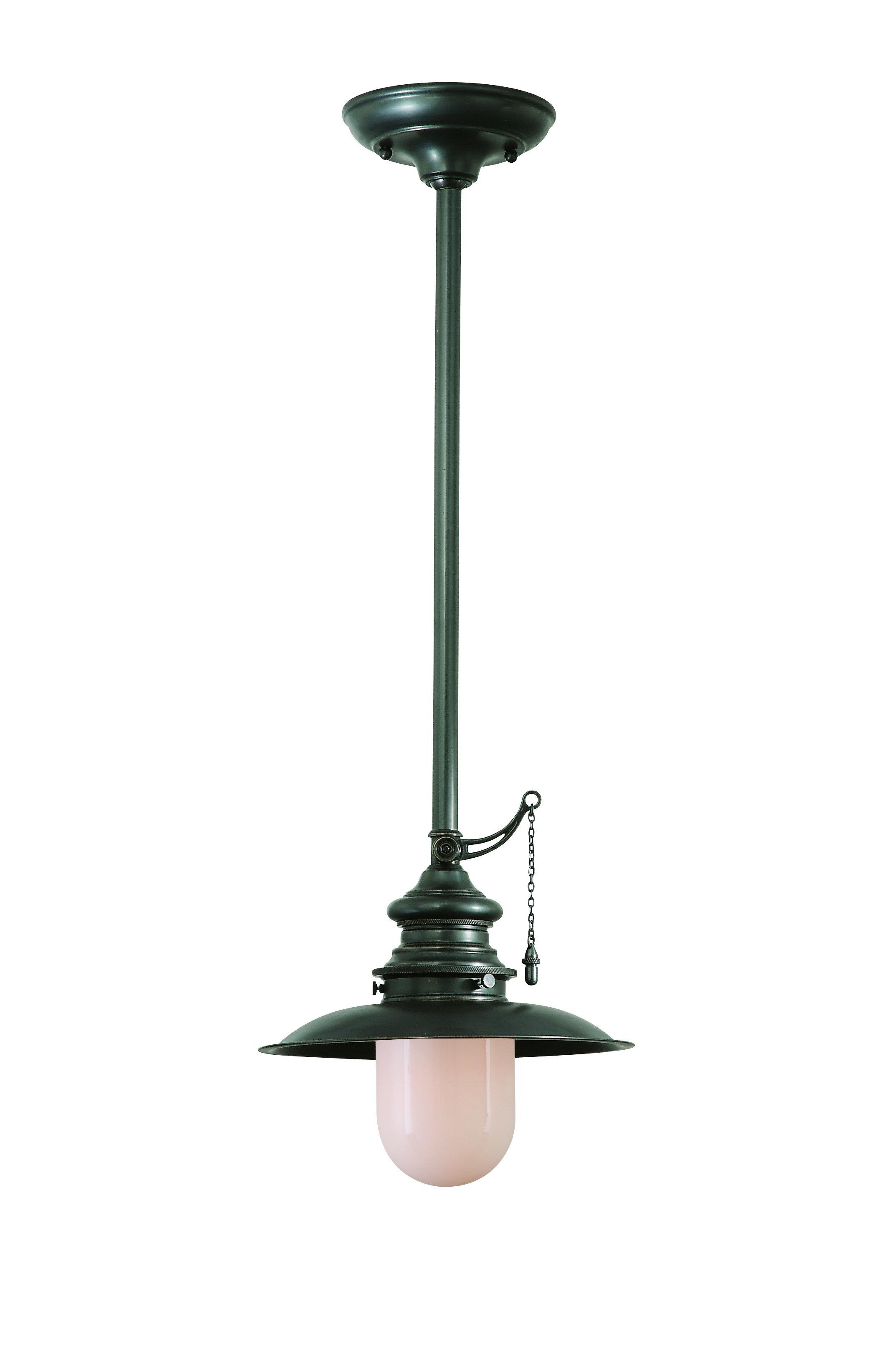 Monique 1-Light Cone Pendant throughout Abernathy 1-Light Dome Pendants (Image 25 of 30)