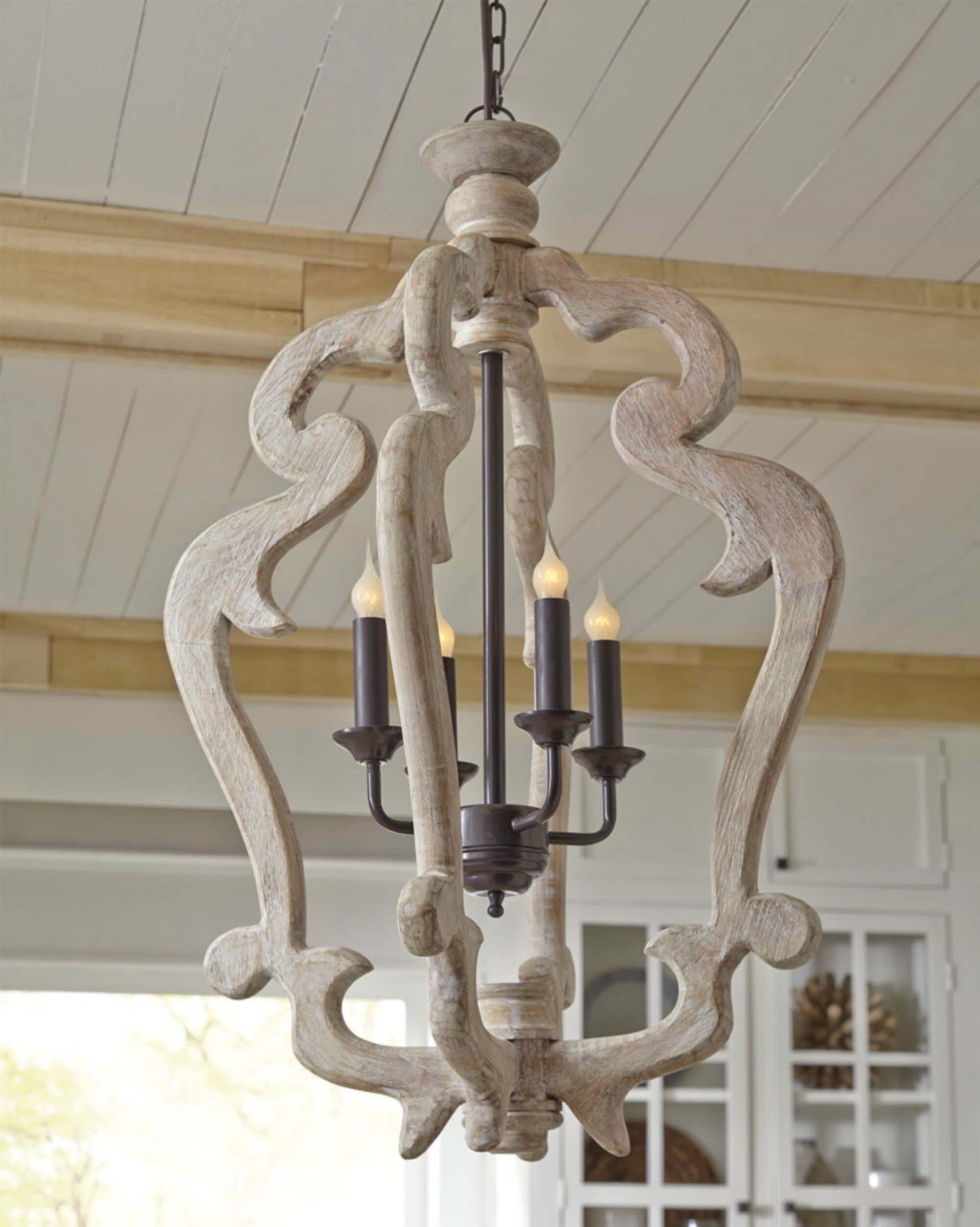 Montigny 4 Light Foyer Pendant Throughout Armande 4 Light Lantern Drum Pendants (View 12 of 30)