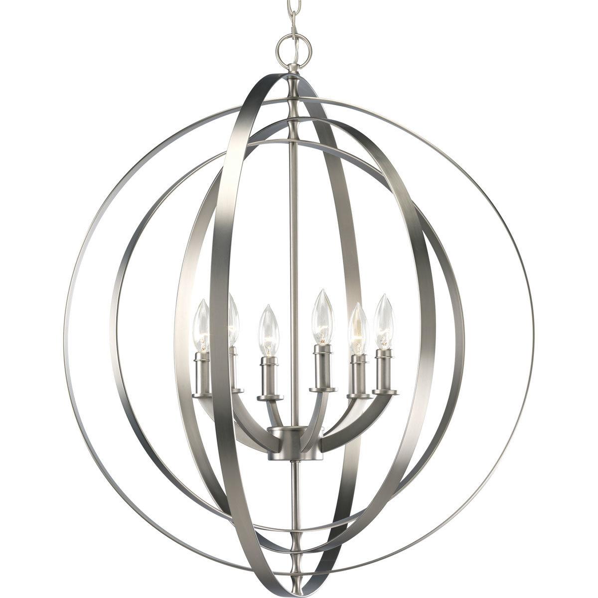 Morganti 6-Light Globe Chandelier within Morganti 4-Light Chandeliers (Image 21 of 30)