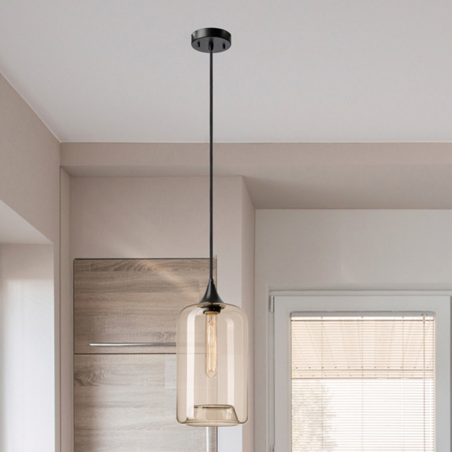 Mudd 1 Light Single Cylinder Pendant Within Sargent 1 Light Single Bell Pendants (View 19 of 30)