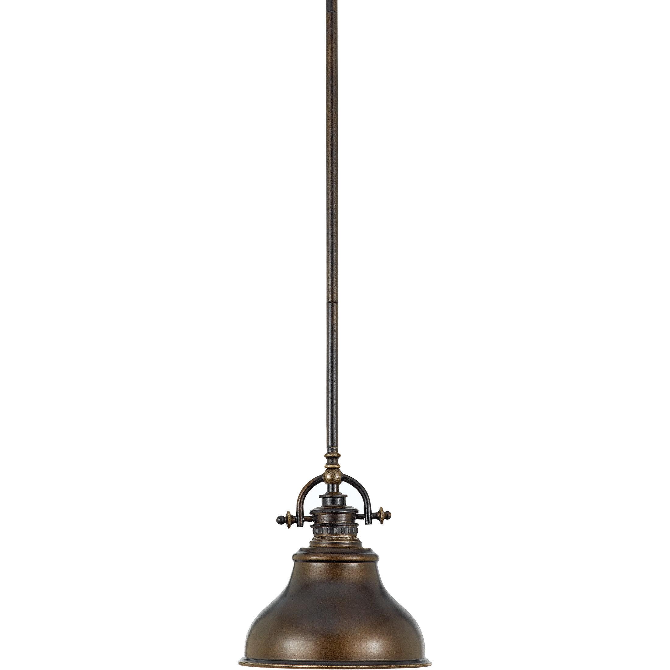 Mueller 1 Light Single Dome Pendant For Ninette 1 Light Dome Pendants (View 9 of 30)