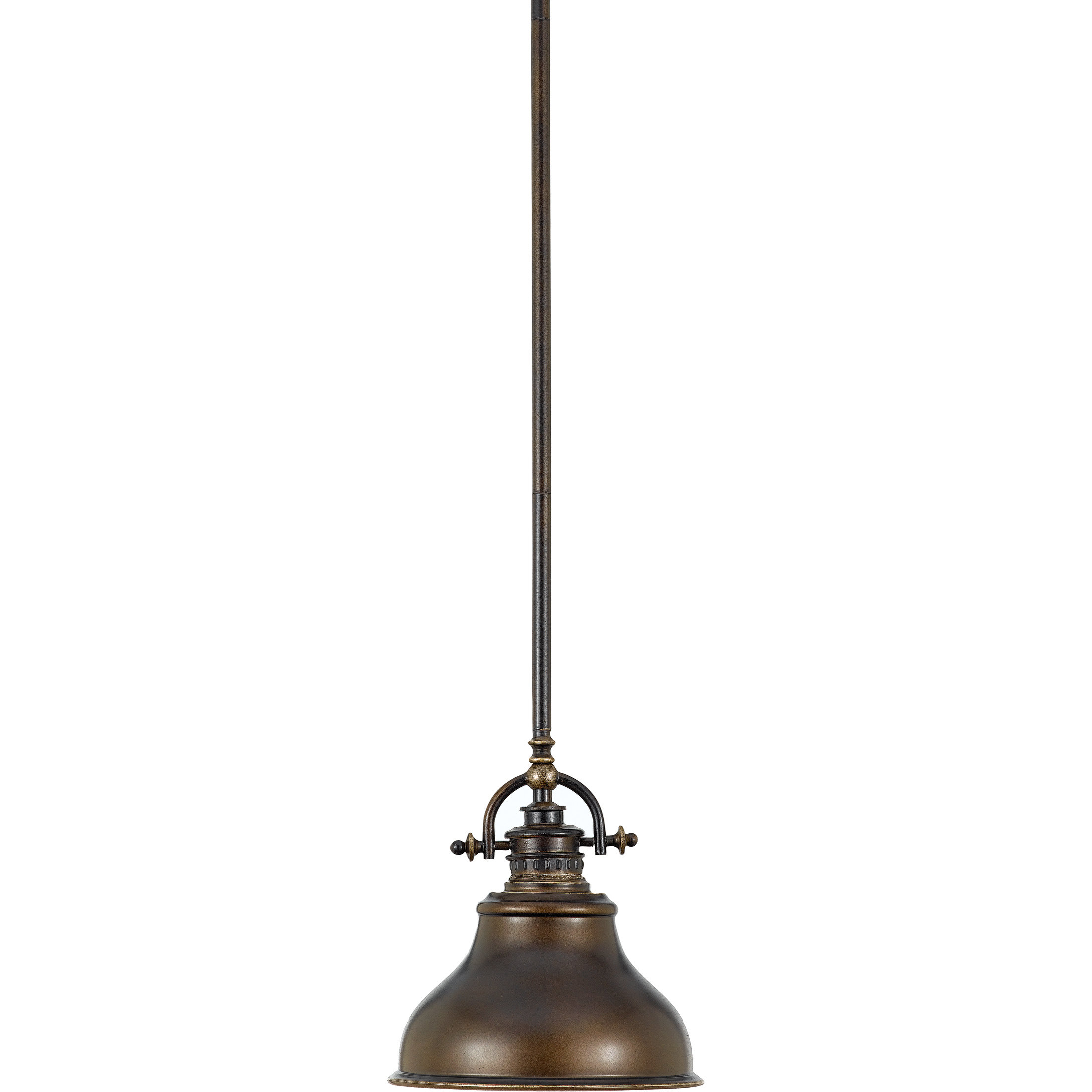 Featured Photo of Mueller 1 Light Single Dome Pendants