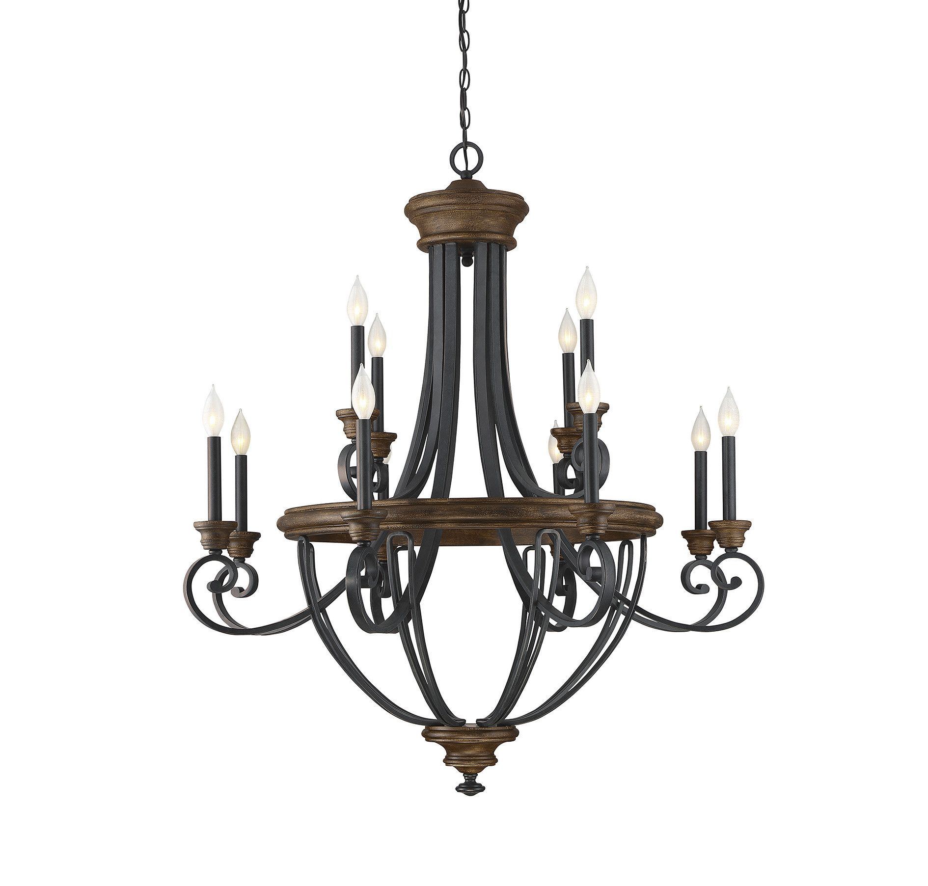 Nanteuil 12 Light Empire Chandelier | Products | Chandelier Regarding Kenedy 9 Light Candle Style Chandeliers (View 12 of 30)