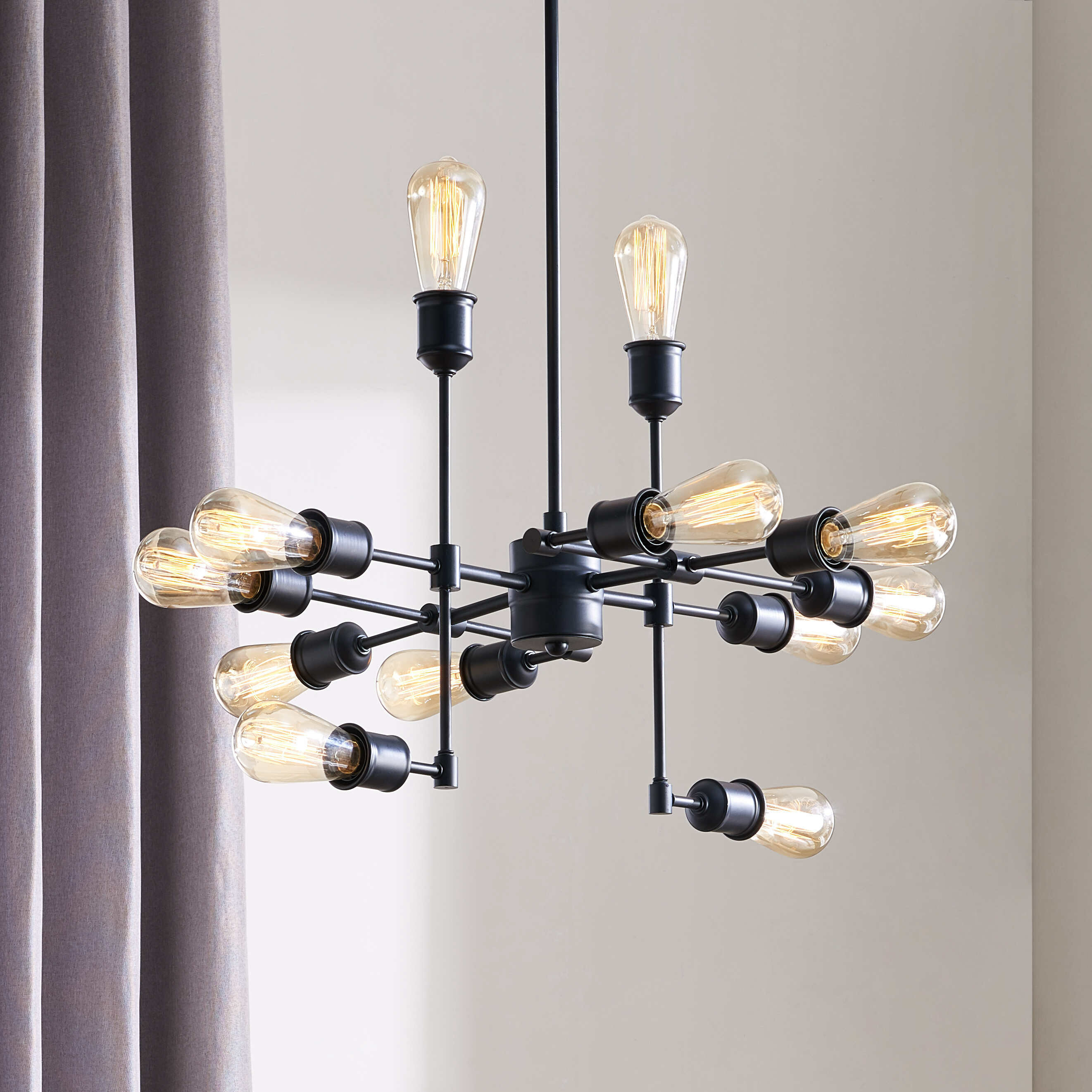 Naranjo 12 Light Sputnik Chandelier Intended For Vroman 12 Light Sputnik Chandeliers (View 15 of 30)