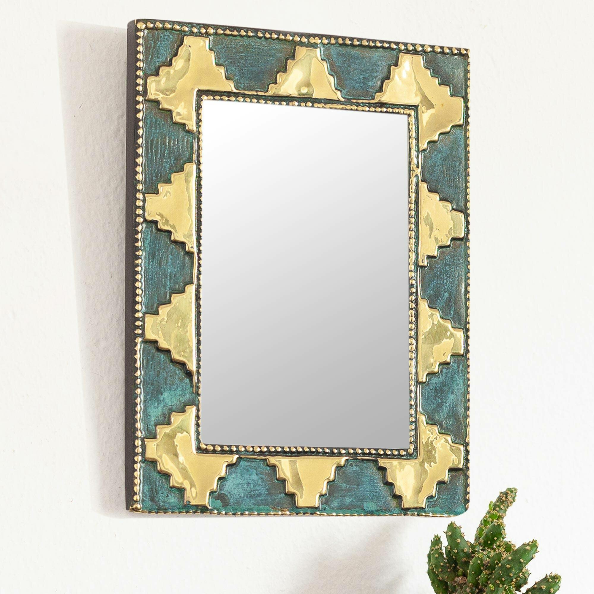 Nathalia Pre-Hispanic Pyramids Traditional Wall Mirror with Boyers Wall Mirrors (Image 22 of 30)