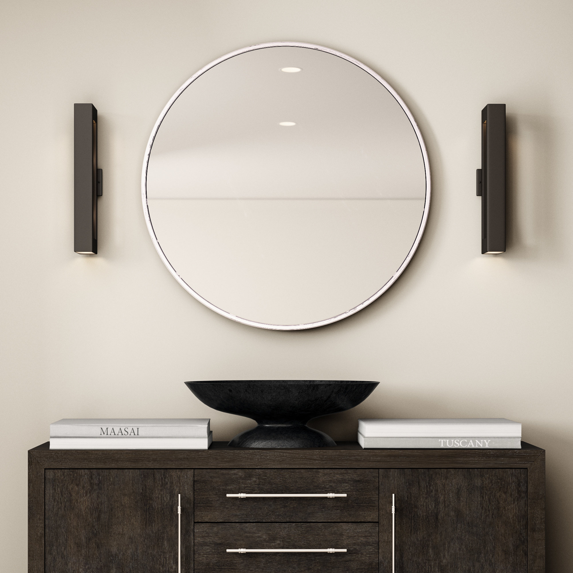 Needville Modern & Contemporary Accent Mirror intended for Hub Modern And Contemporary Accent Mirrors (Image 18 of 30)