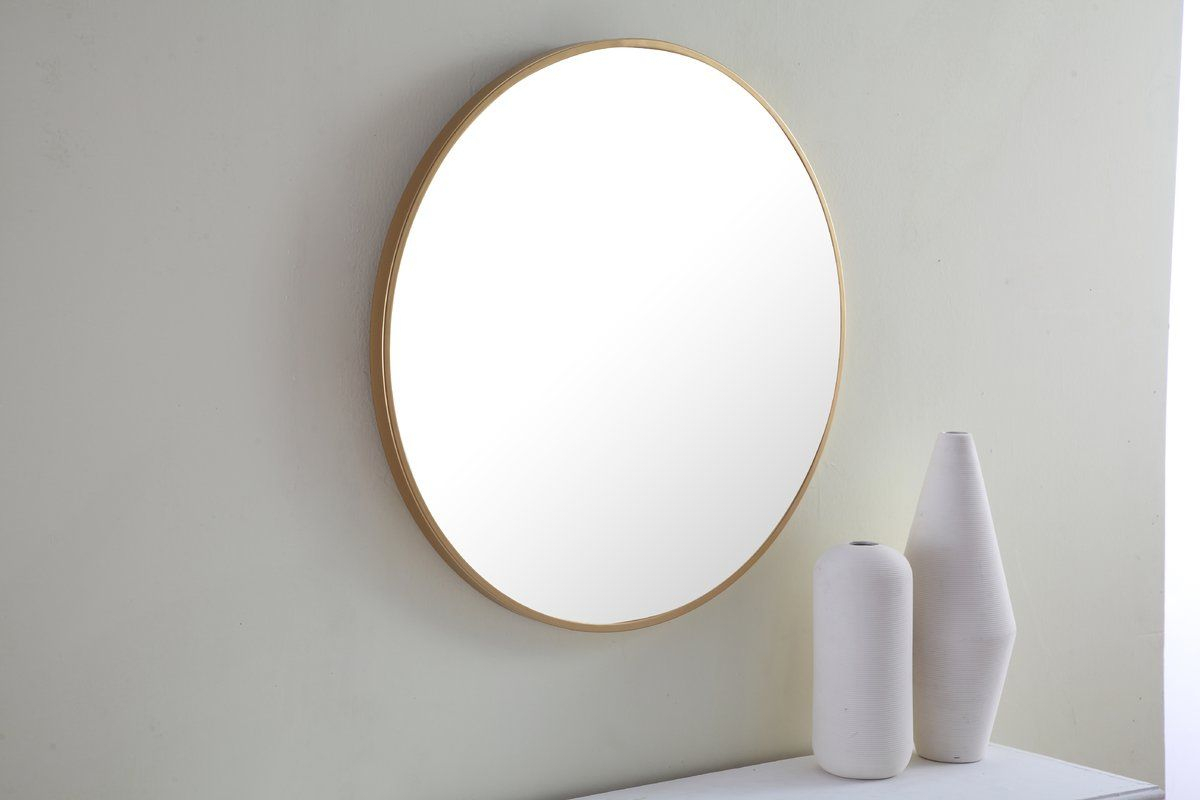Needville Modern & Contemporary Accent Mirror | Prince St Within Needville Modern & Contemporary Accent Mirrors (View 6 of 30)