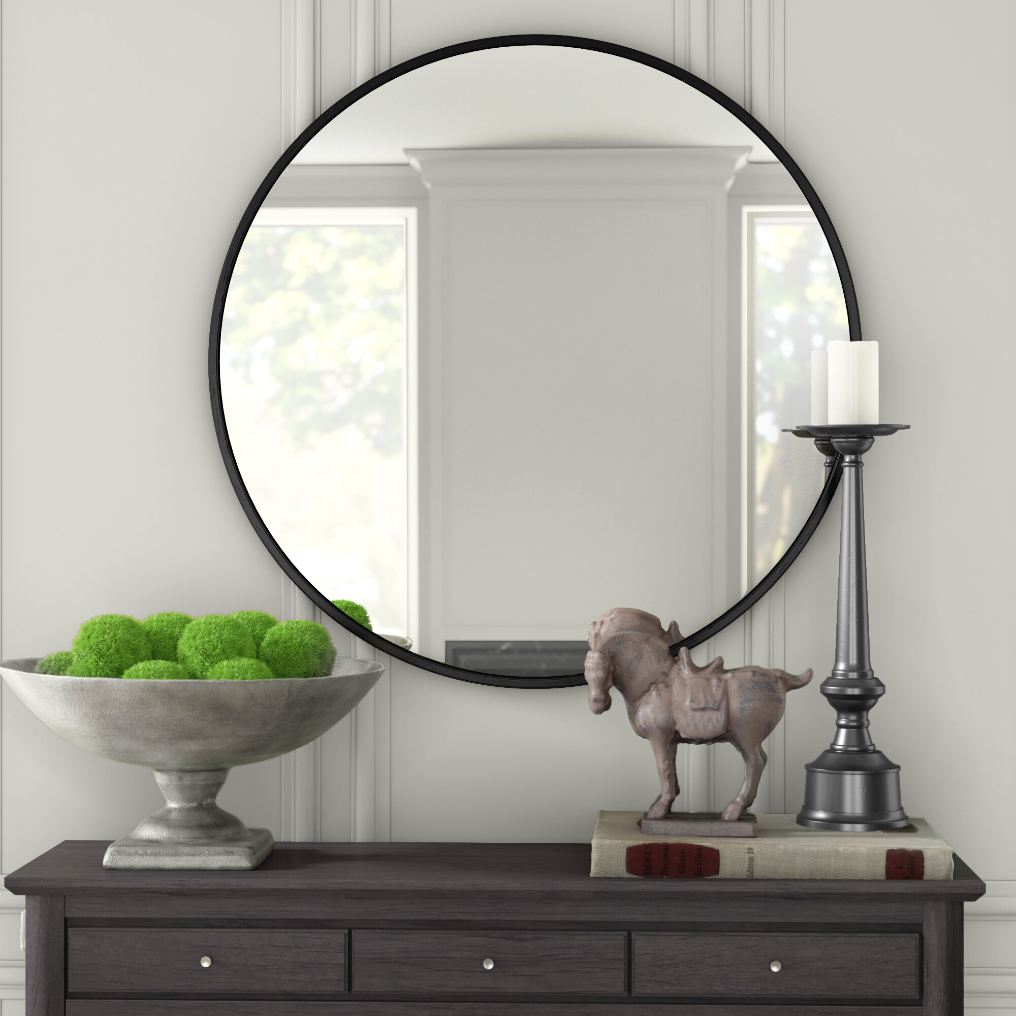 Needville Modern & Contemporary Accent Mirror With Needville Modern & Contemporary Accent Mirrors (View 8 of 30)