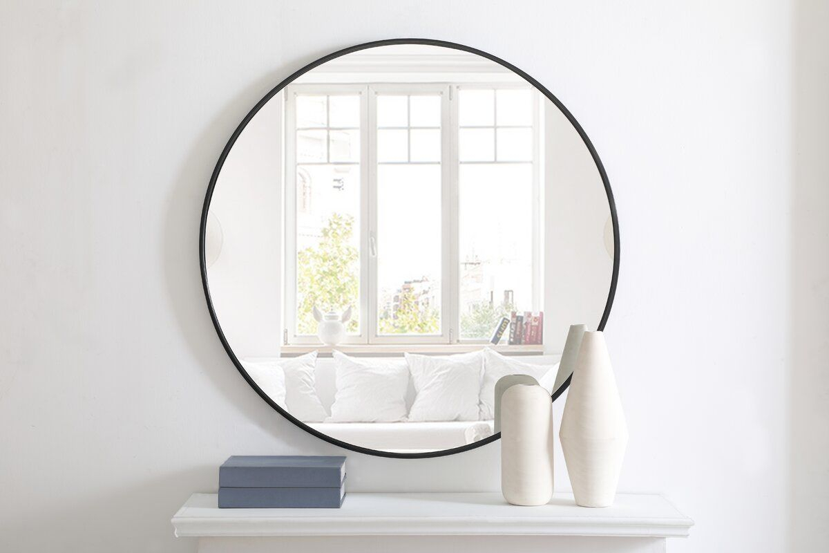 Needville Modern & Contemporary Beveled Accent Mirror In With Needville Modern & Contemporary Accent Mirrors (View 3 of 30)