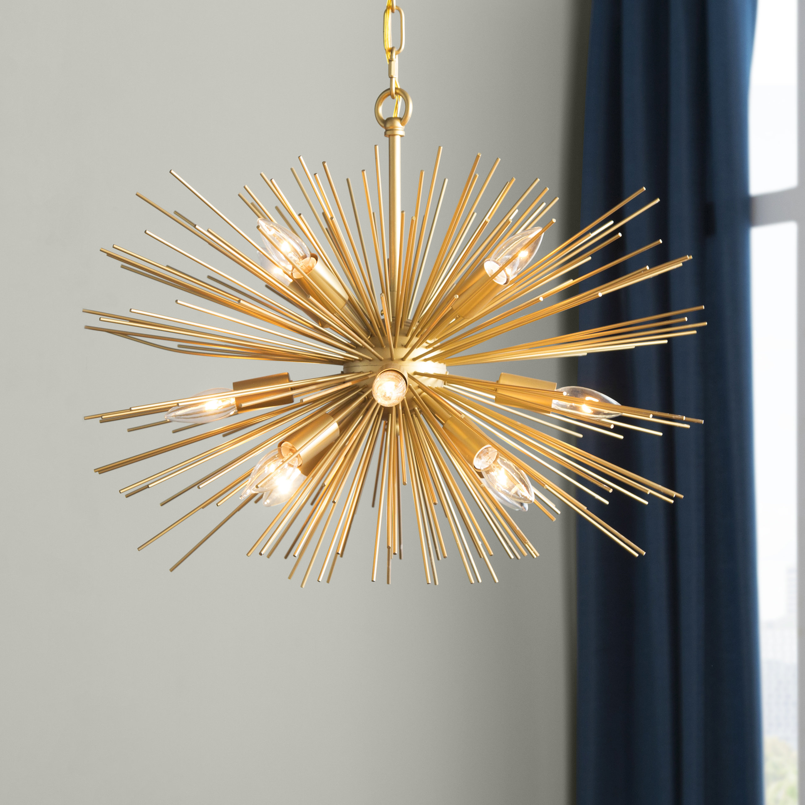 Featured Photo of Nelly 12 Light Sputnik Chandeliers