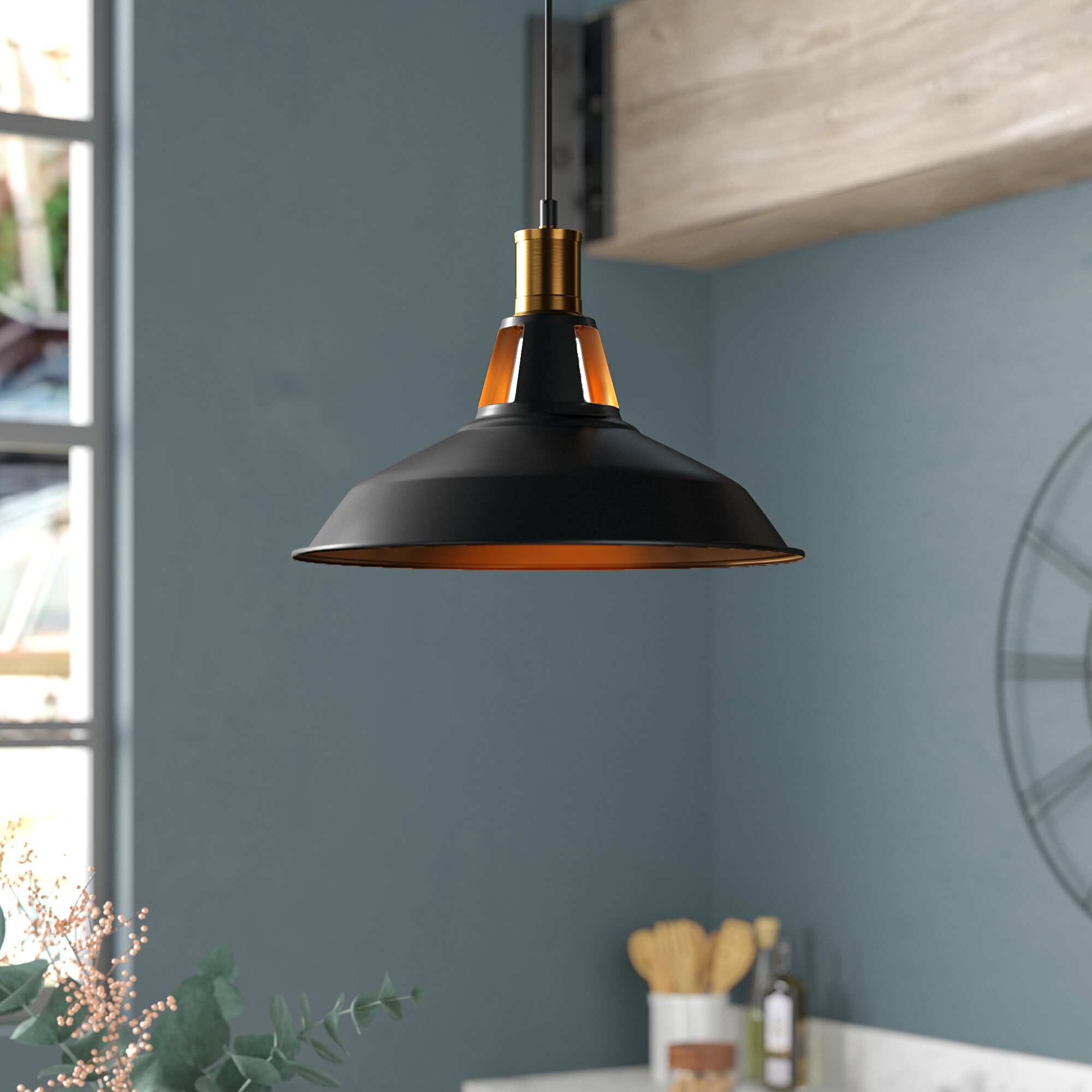 Newhaven 1 Light Led Dome Pendant With Regard To Gattis 1 Light Dome Pendants (View 8 of 30)