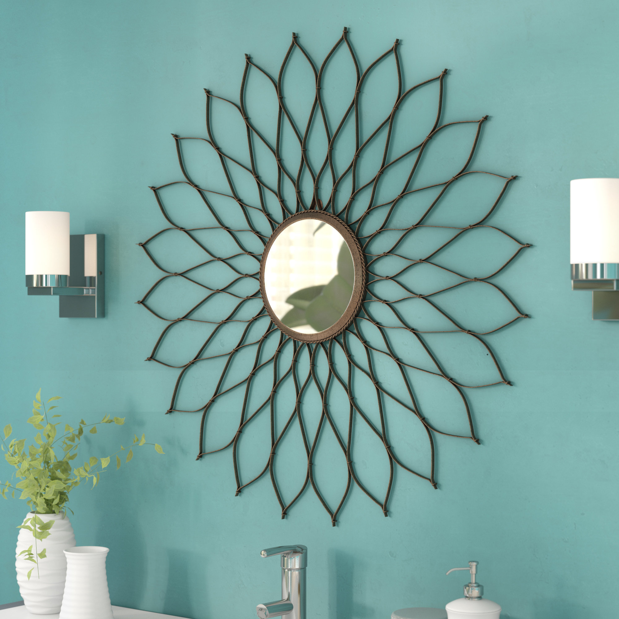 Newtown Accent Mirror With Regard To Newtown Accent Mirrors (View 3 of 30)