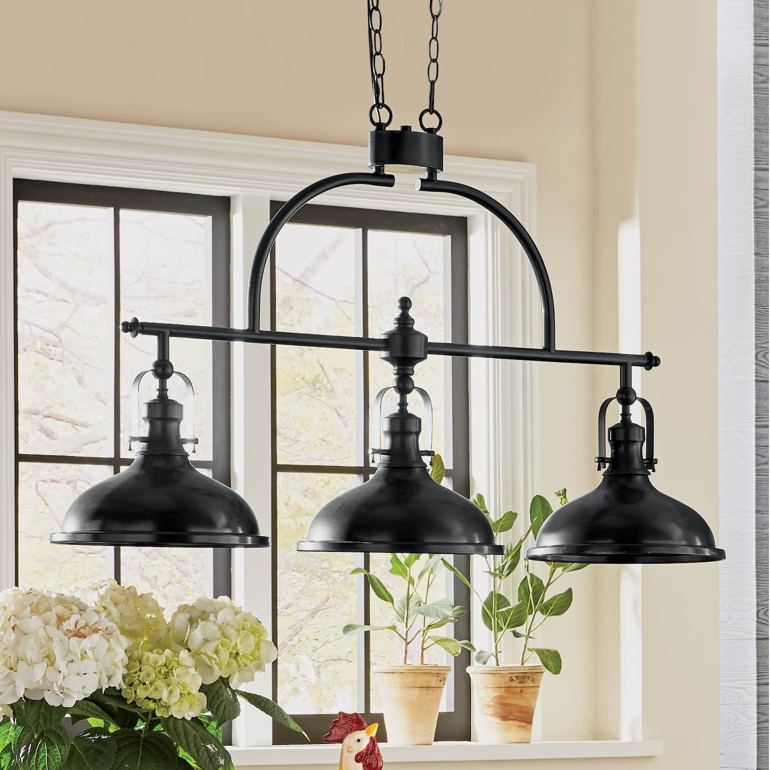 Niles Hanging Lamp | Country Door | Remodeling In 2019 in Martinique 3-Light Kitchen Island Dome Pendants (Image 24 of 30)