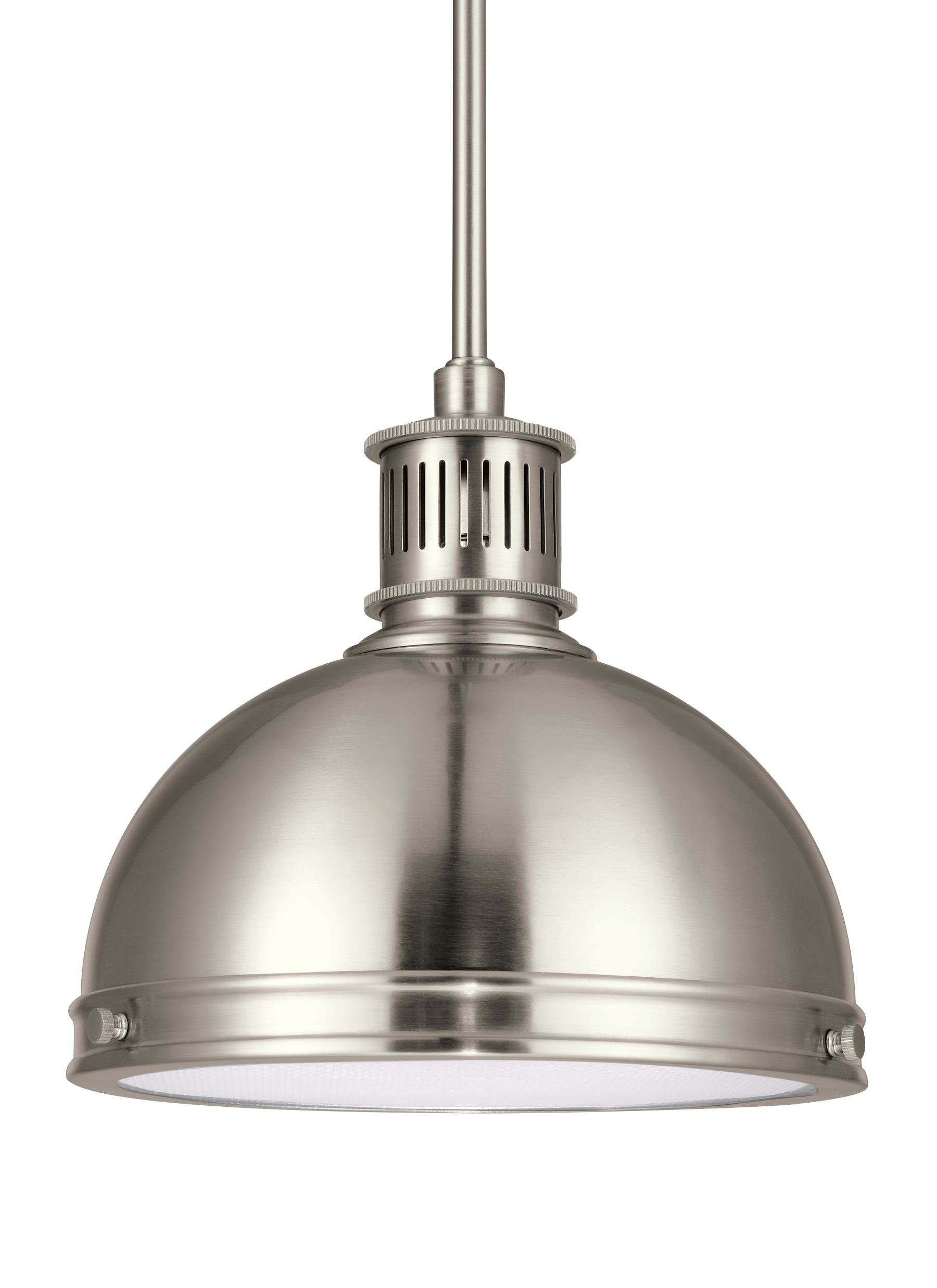 Ninette 1 Light Dome Pendant Regarding Bainbridge 1 Light Single Cylinder Pendants (View 25 of 30)