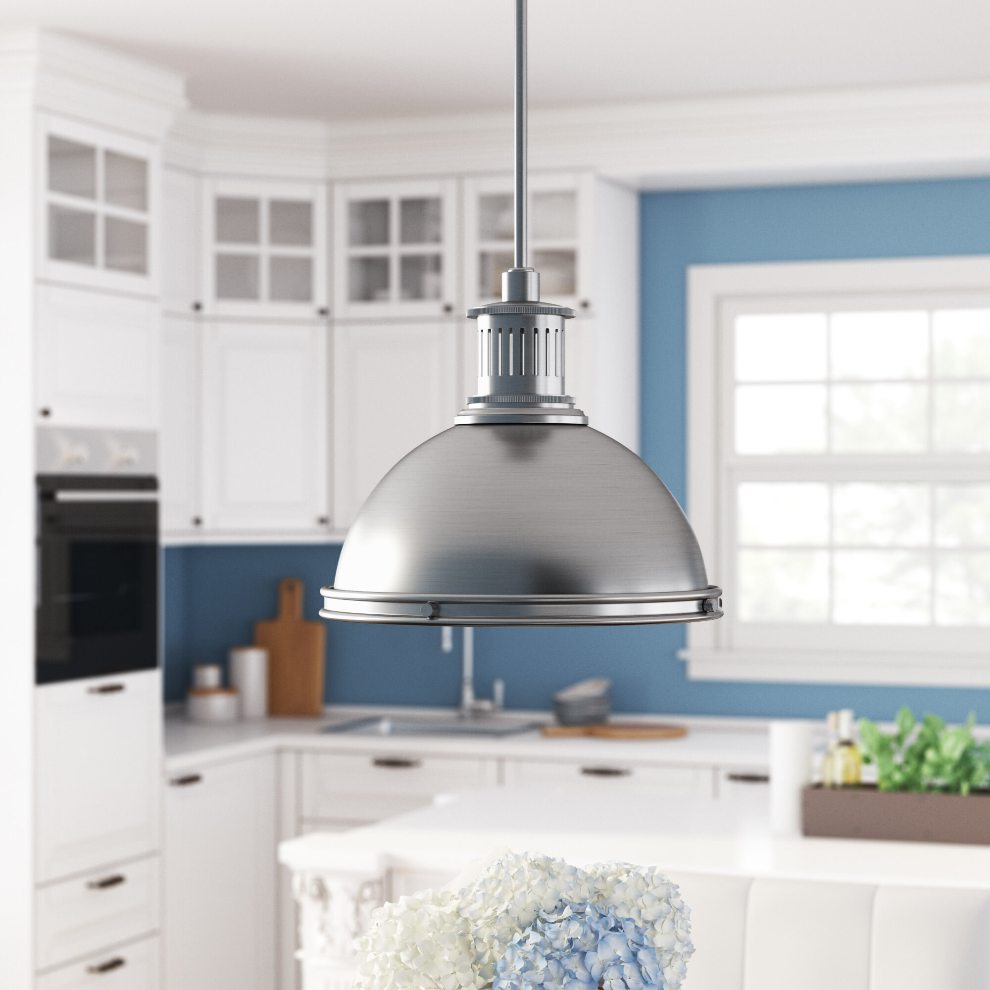 Featured Photo of Ninette 1 Light Dome Pendants