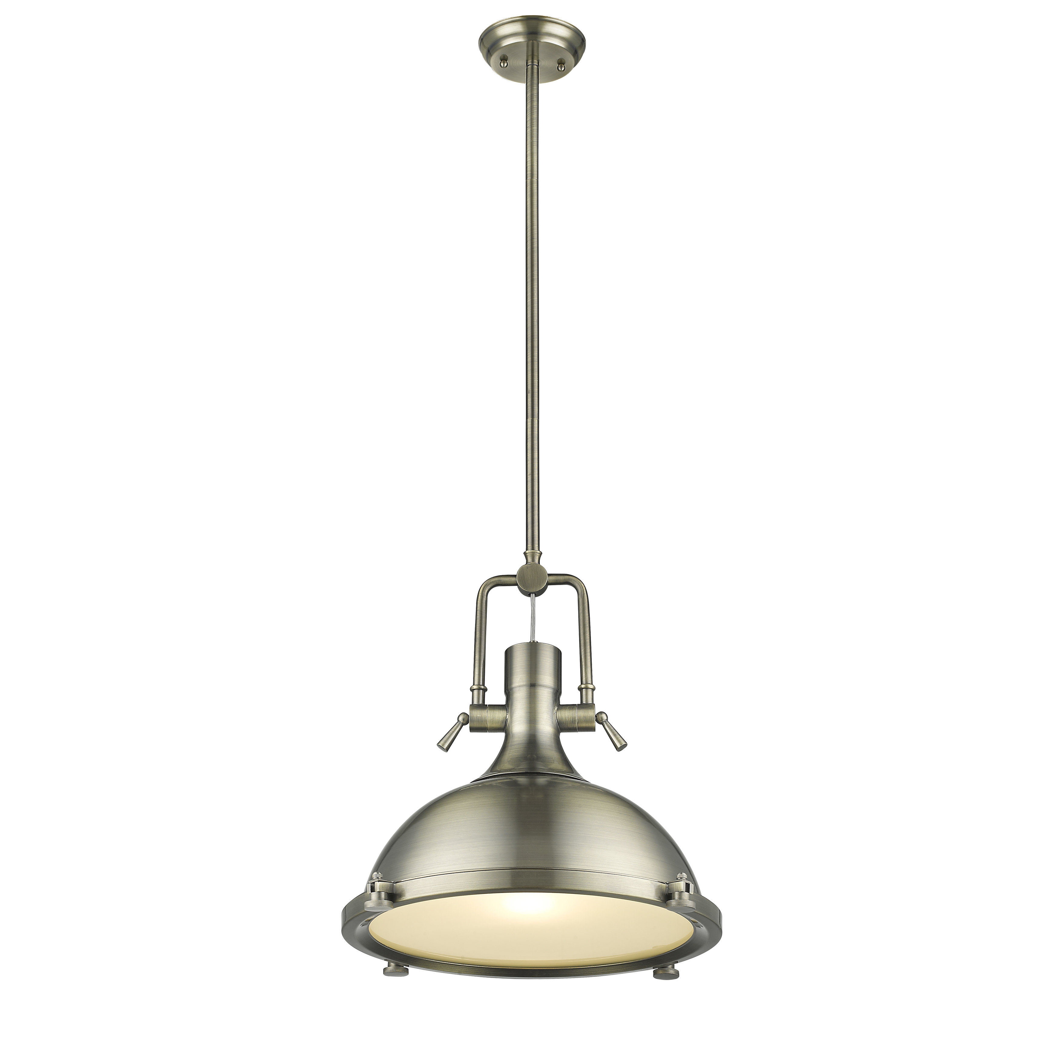 Nolan 1 Light Single Dome Pendant Intended For Freeda 1 Light Single Dome Pendants (View 17 of 30)