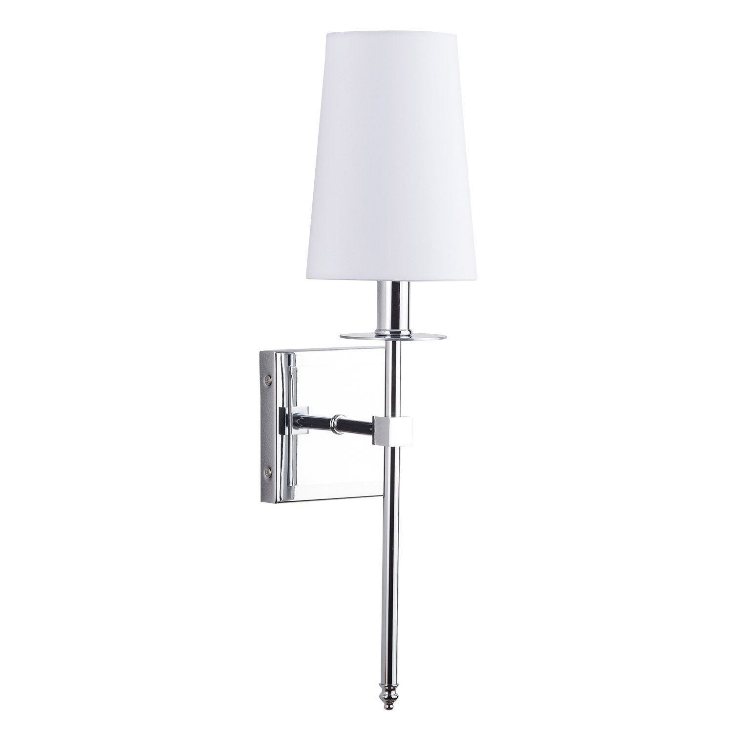 Norma 1 Light Armed Sconce In Nadeau 1 Light Single Cone Pendants (Photo 28 of 30)