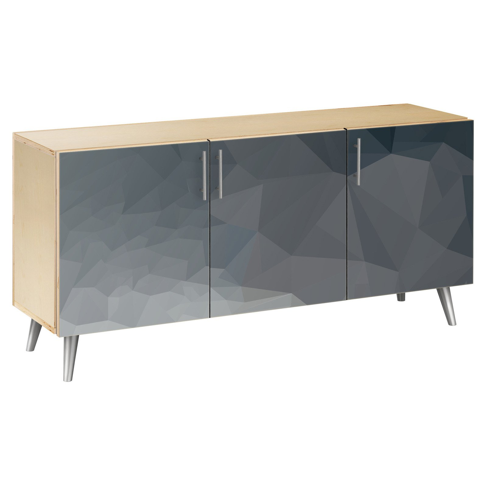 Nyekoncept Midnight Topography Flare Sideboard In 2019 Within Elyza Credenzas (View 6 of 30)