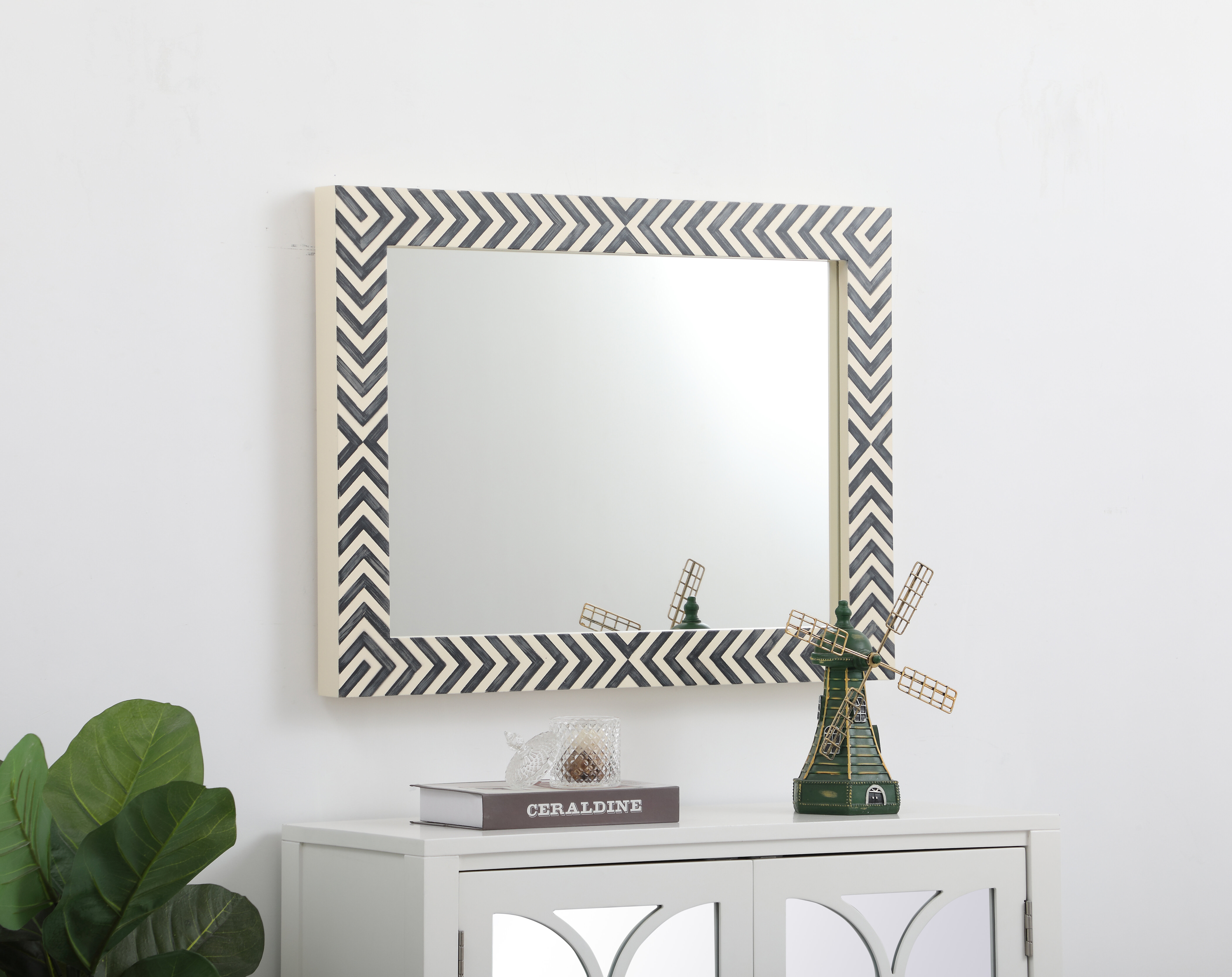 Obregon Contemporary Accent Mirror in Swagger Accent Wall Mirrors (Image 21 of 30)