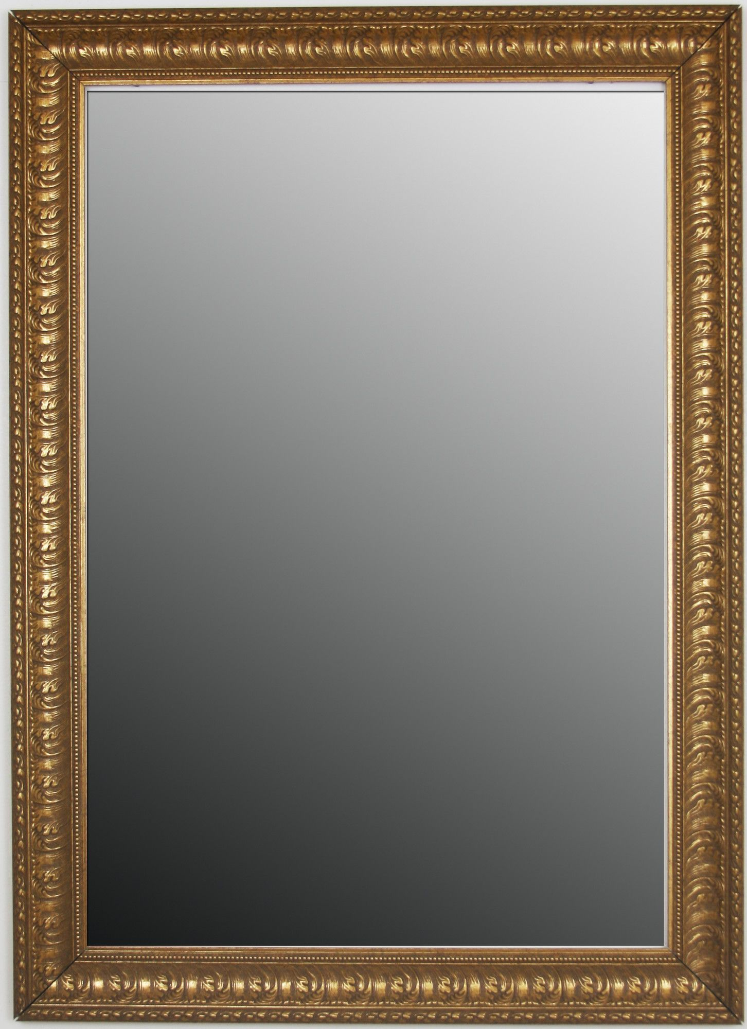 Ocean Waves Beaded Accents Framed Wall Mirror | Products Inside Beaded Accent Wall Mirrors (View 22 of 30)