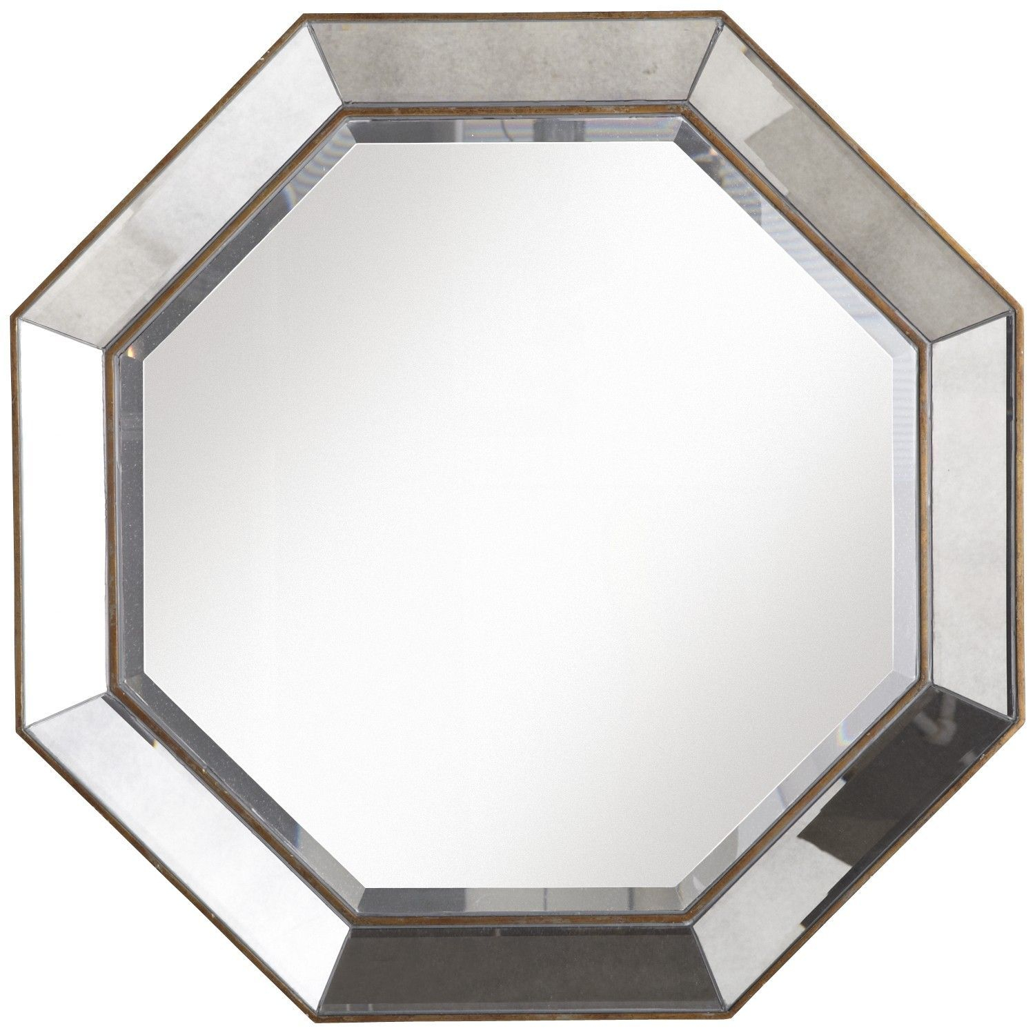 Octagon Mirror Could Be Used As A Coffee Table (or Two Pertaining To Trigg Accent Mirrors (View 14 of 30)