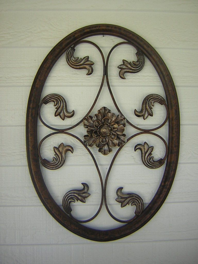 Oil Rubbed Bronze Metal Wall Hangings | Hoover House For Oil Rubbed Metal Wall Decor (View 6 of 30)