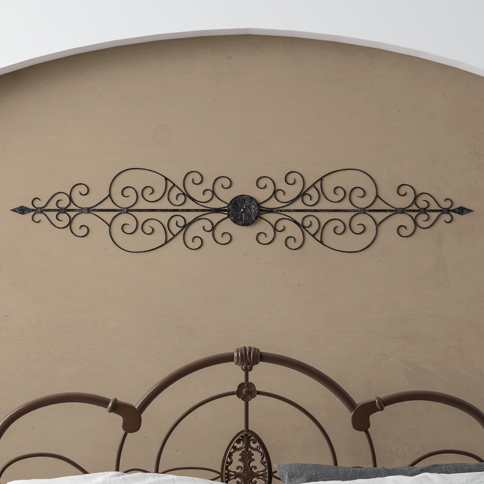 Oil Rubbed Metal Wall Décor With Oil Rubbed Metal Wall Decor (View 2 of 30)