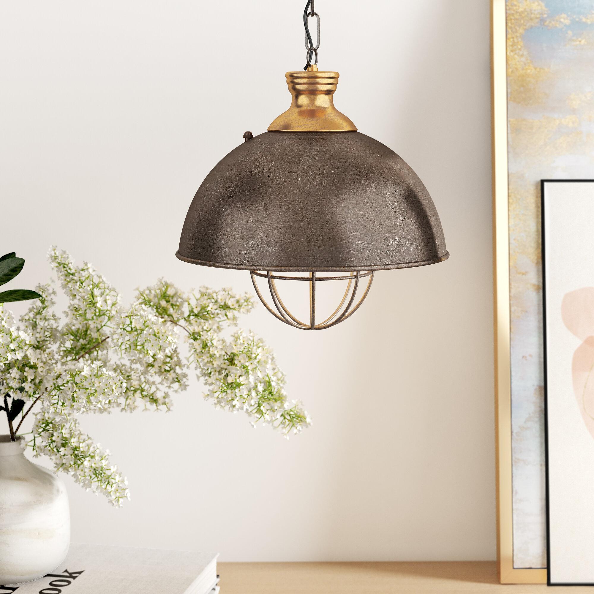 Olathe 1 Light Single Dome Pendant & Reviews | Joss & Main Throughout Prange 1 Light Single Globe Pendants (View 14 of 30)