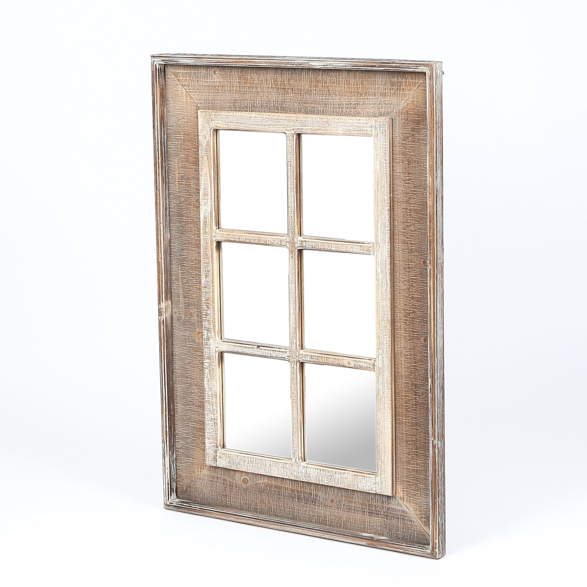 Old Rustic Window Frames | Wayfair regarding Old Rustic Barn Window Frame (Image 14 of 30)