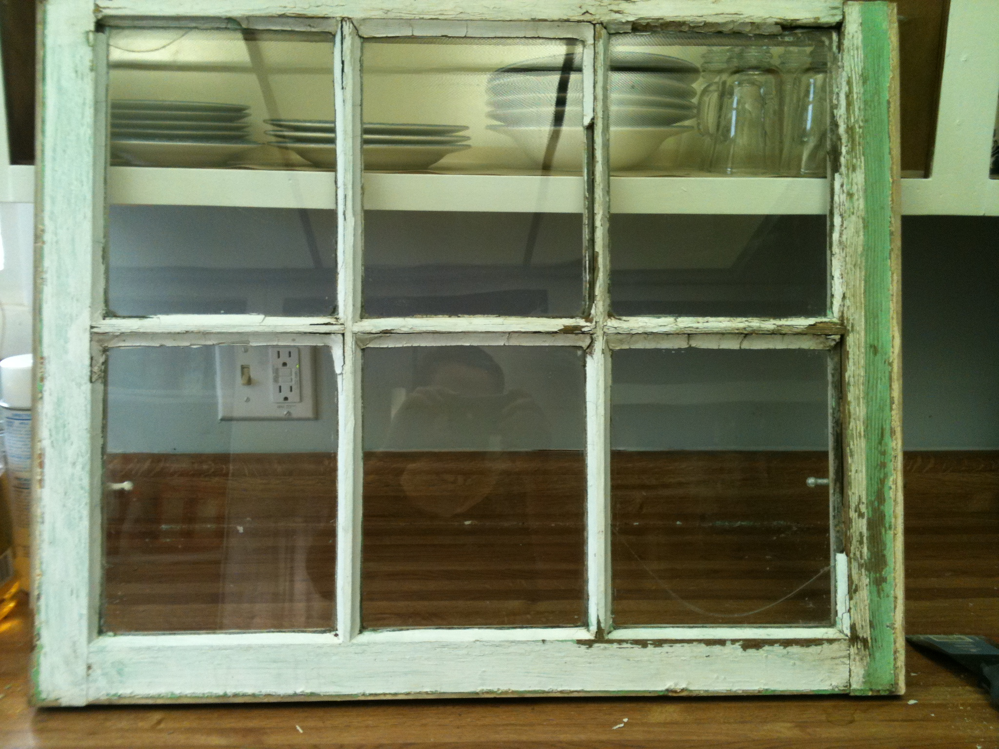Old Stuff- Wood Window Pane To Distressed Picture Frame – My pertaining to Old Rustic Barn Window Frame (Image 14 of 30)