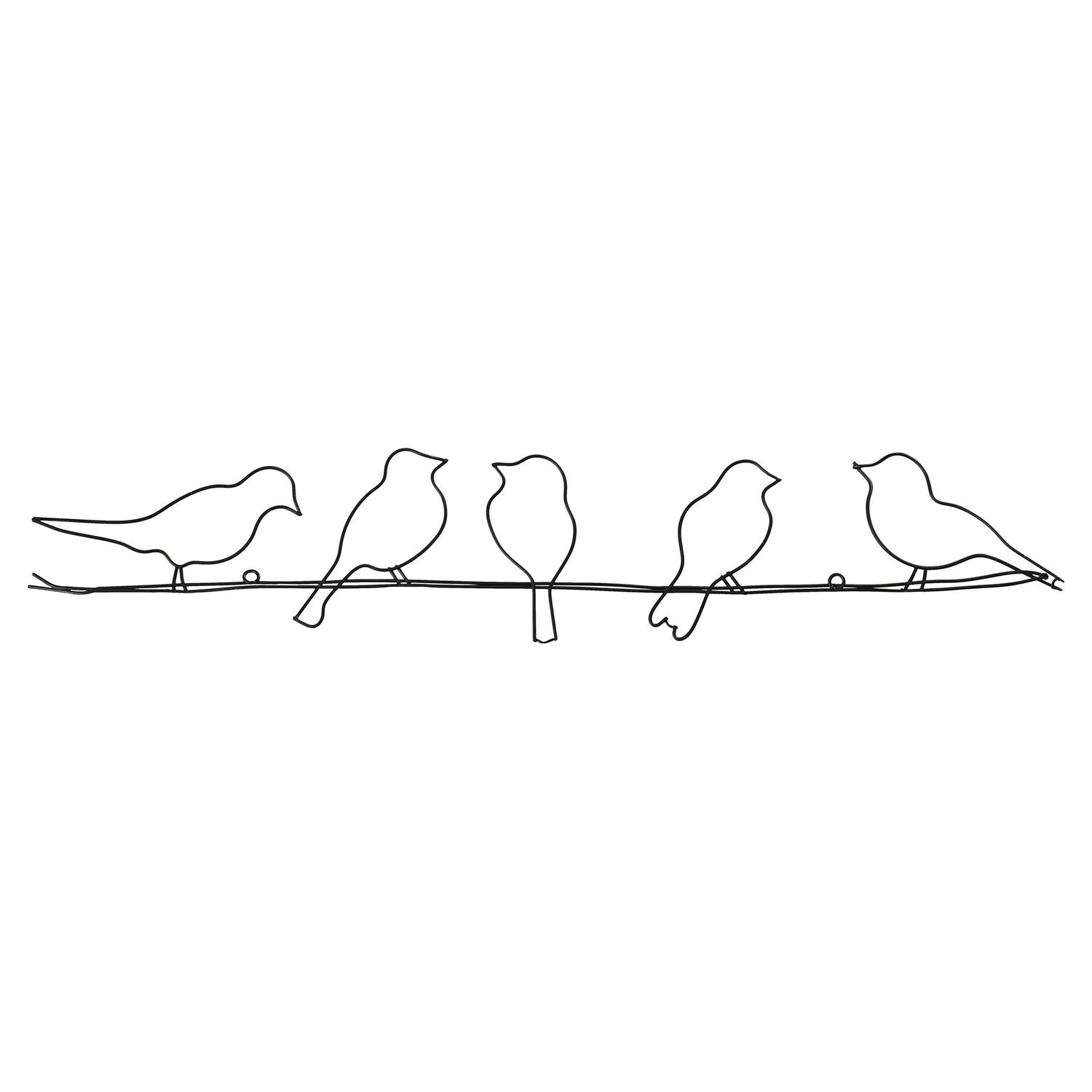 One Allium Way Birds On A Wire Wall Décor | For Jb In 2019 inside Alvis Traditional Metal Wall Decor (Image 18 of 30)