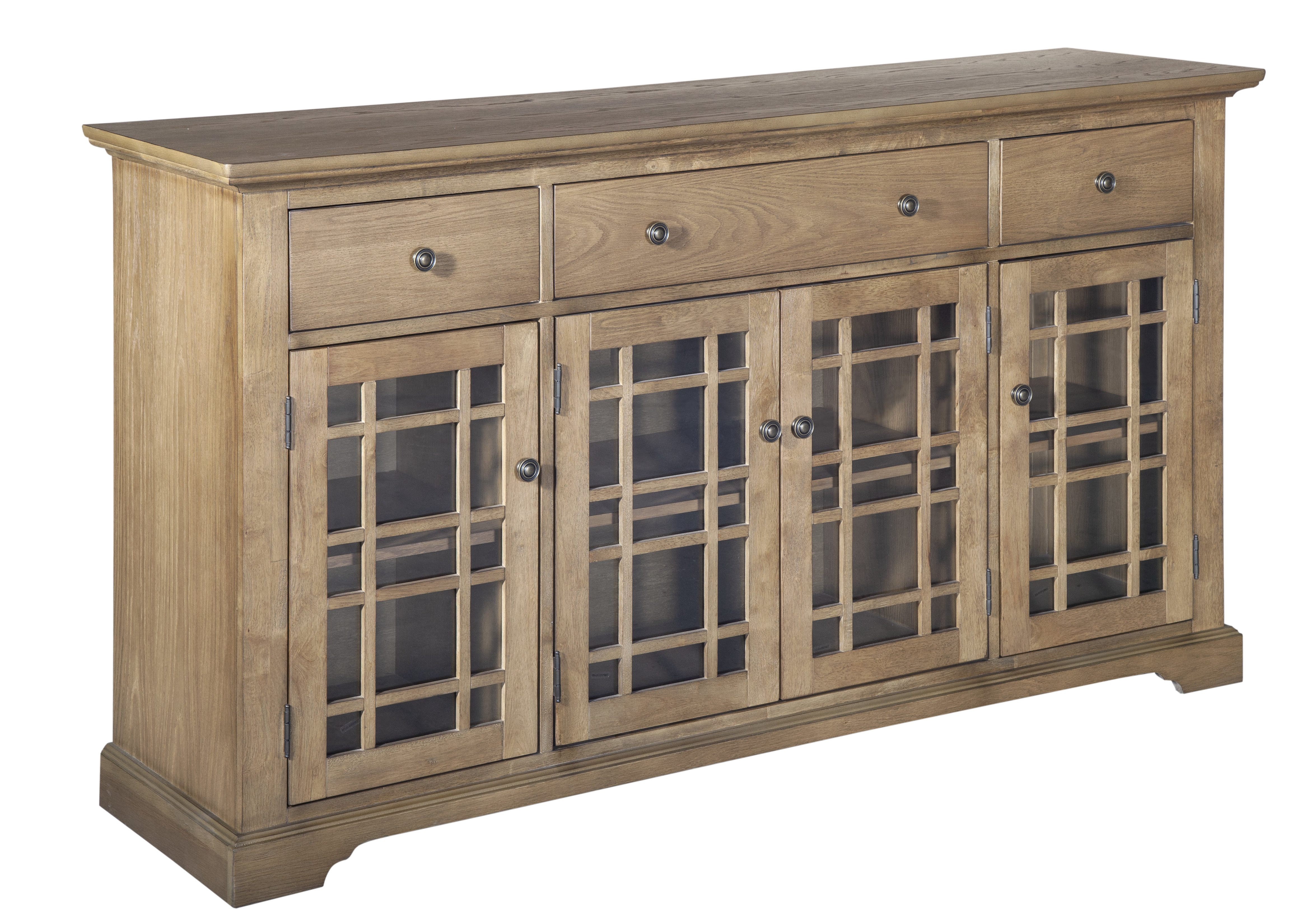 Opheim 4 Doors Accent Cabinet intended for Eau Claire 6 Door Accent Cabinets (Image 23 of 30)