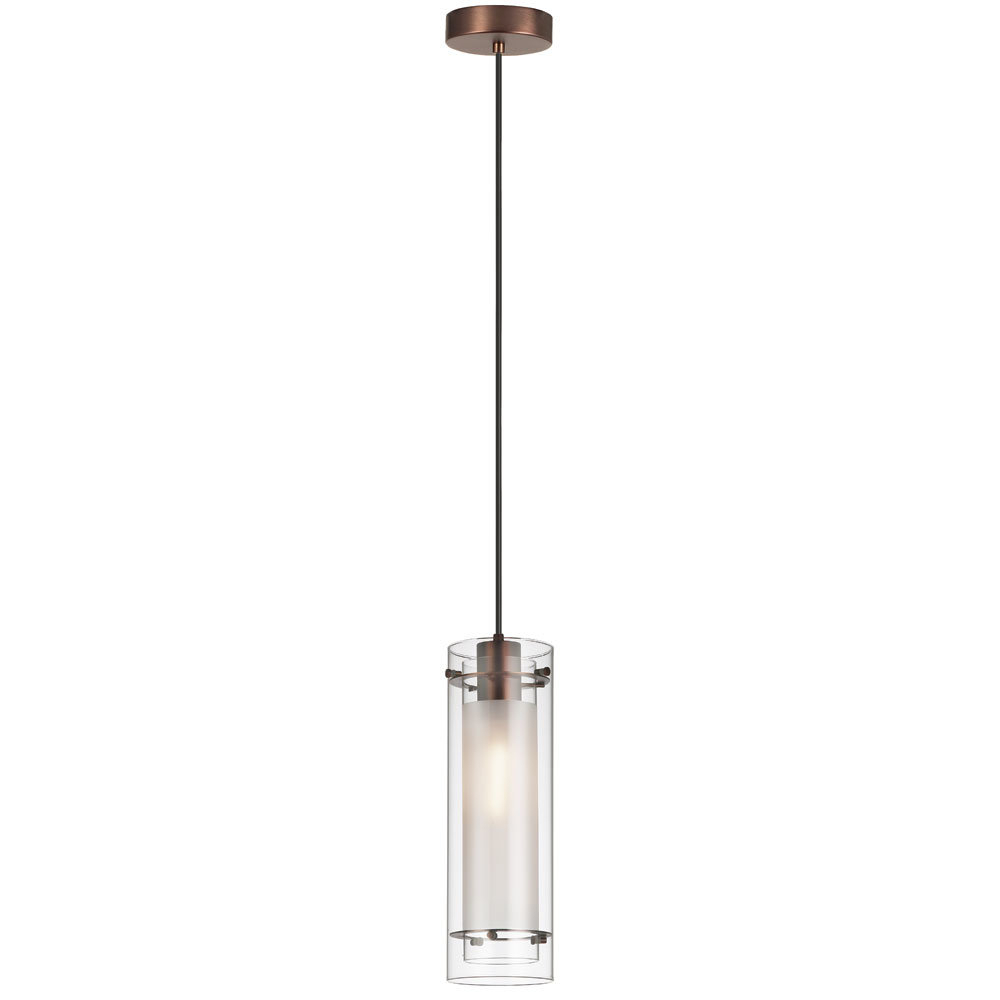 Orly 1-Light Cylinder Pendant inside Bainbridge 1-Light Single Cylinder Pendants (Image 26 of 30)