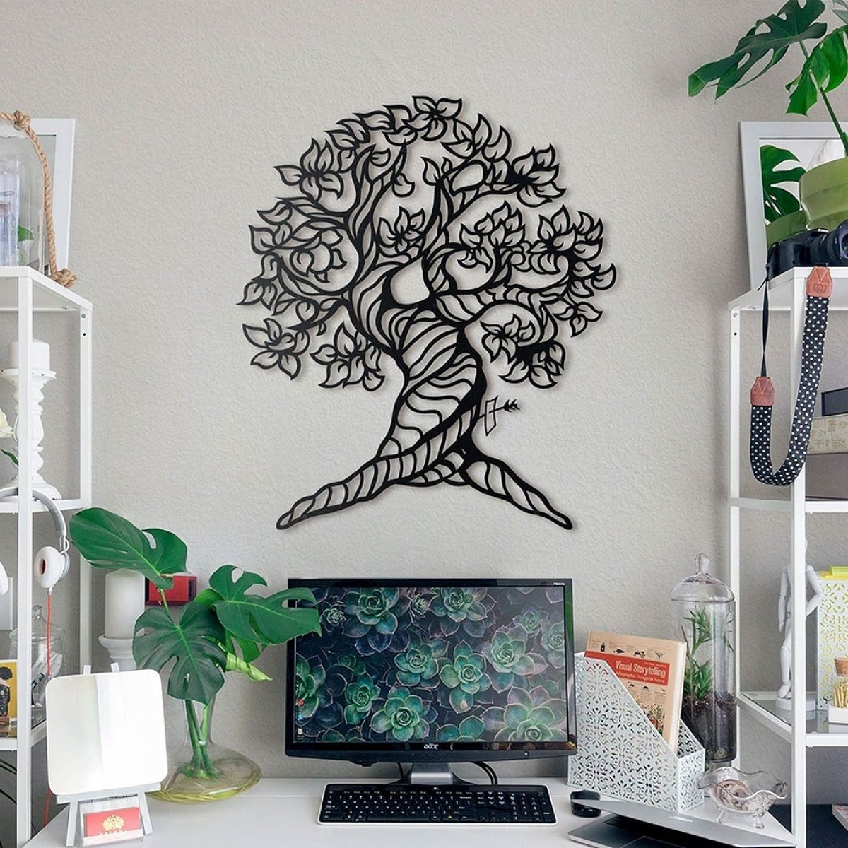 Orme Tree Wall Decor Throughout Tree Wall Decor (View 17 of 30)