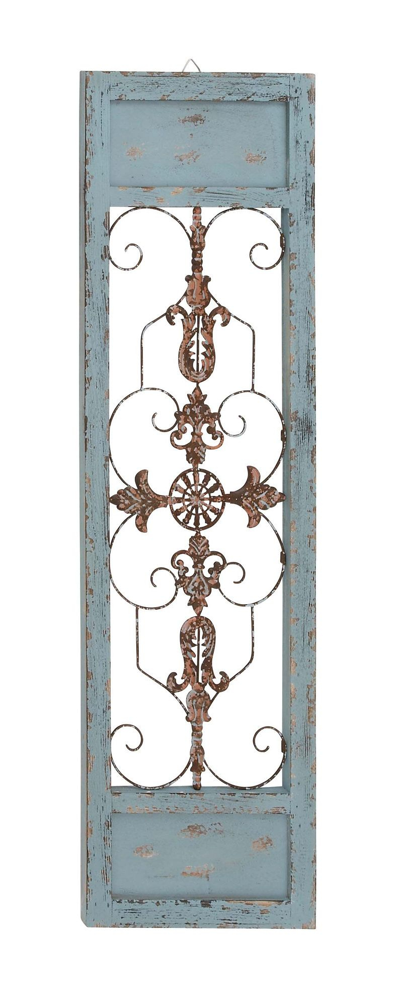 Ornamental Wood And Metal Scroll Wall Décor | Decor | Wooden in Ornamental Wood And Metal Scroll Wall Decor (Image 17 of 30)