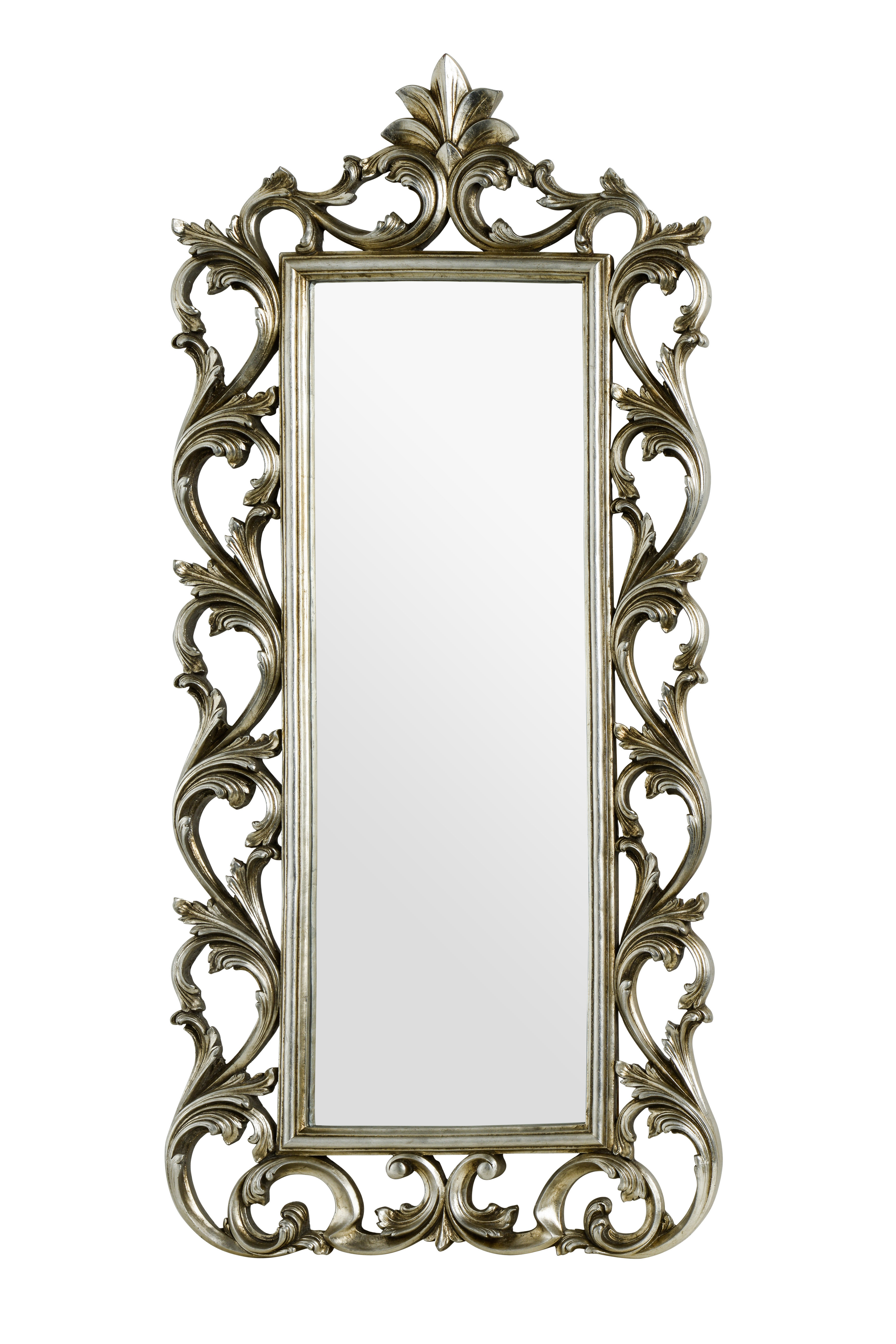 Ornate Wall Mirror within Rectangle Ornate Geometric Wall Mirrors (Image 19 of 30)