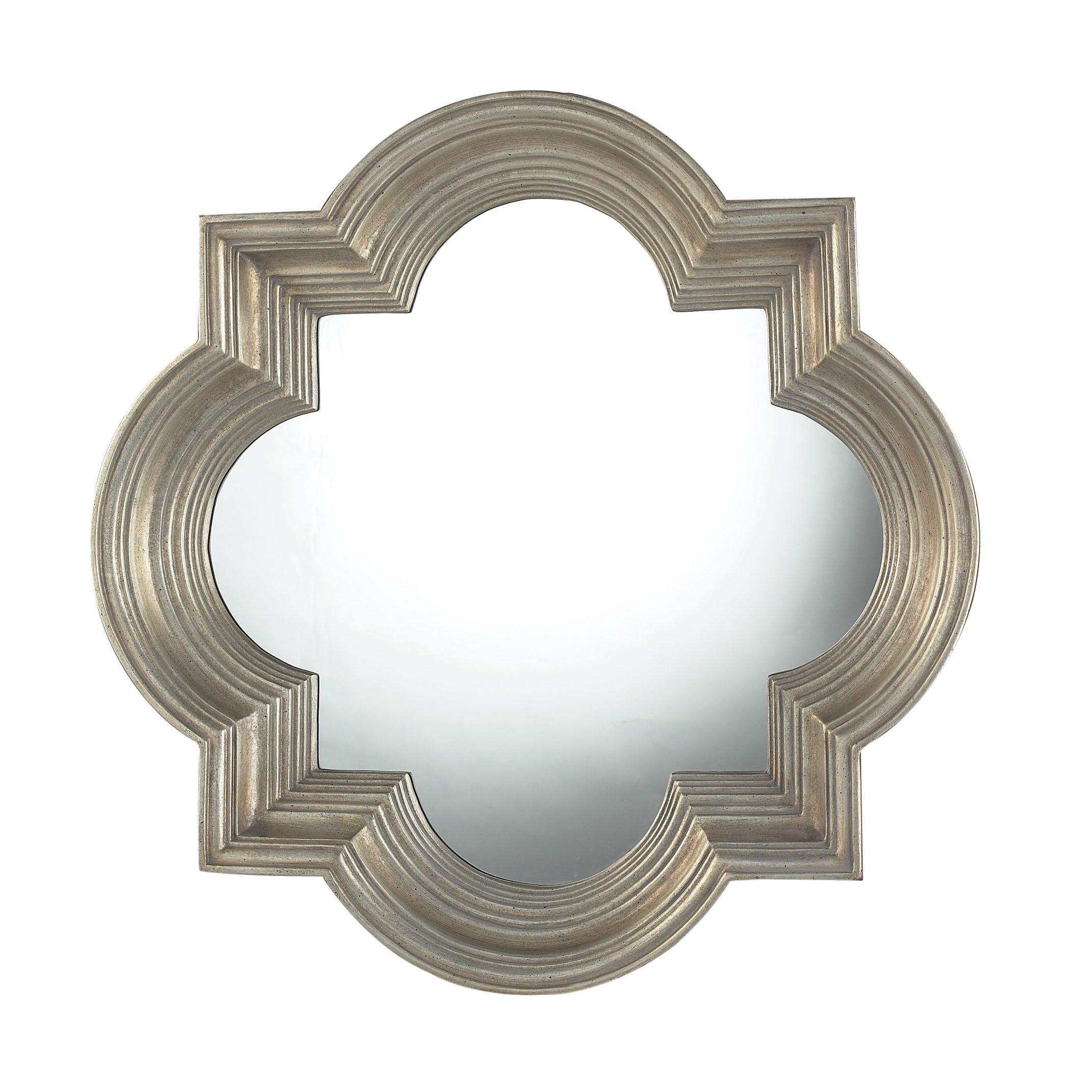 """Osbourne Mirror – Midland Silver – 30""""w X 6""""d X 30""""h With Regard To Osbourne Wall Decor (View 23 of 30)"""