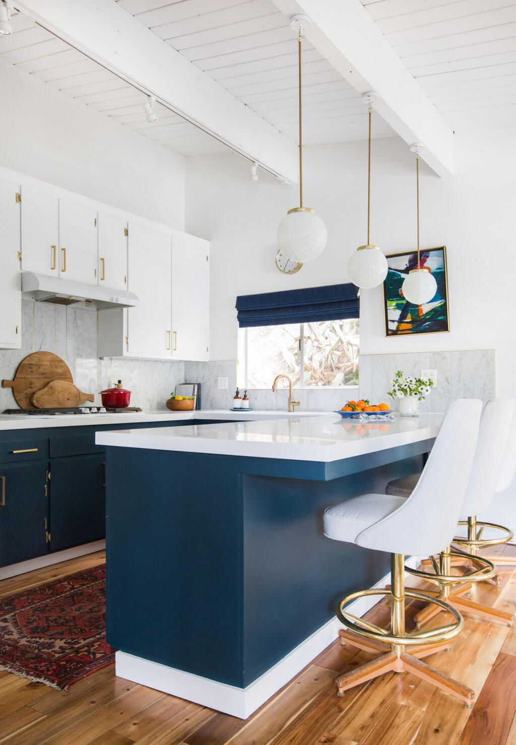 Our First Home: A Look Back And Full House Tour | Kitchens regarding Schutt 4-Light Kitchen Island Pendants (Image 15 of 30)