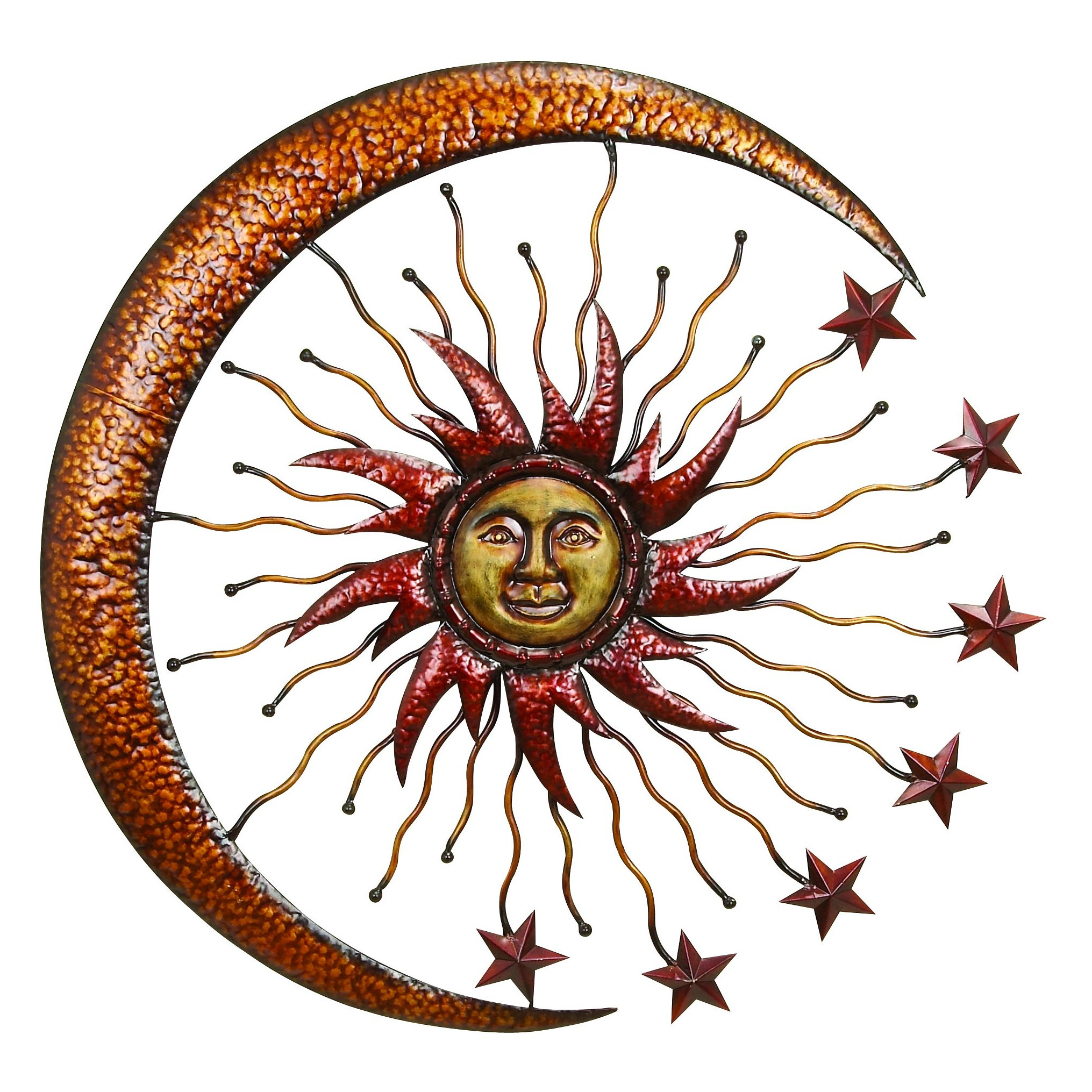 Outdoor Wall Hanging Decor Create A Beautiful Outdoor Living Within Nature Metal Sun Wall Decor (View 8 of 30)