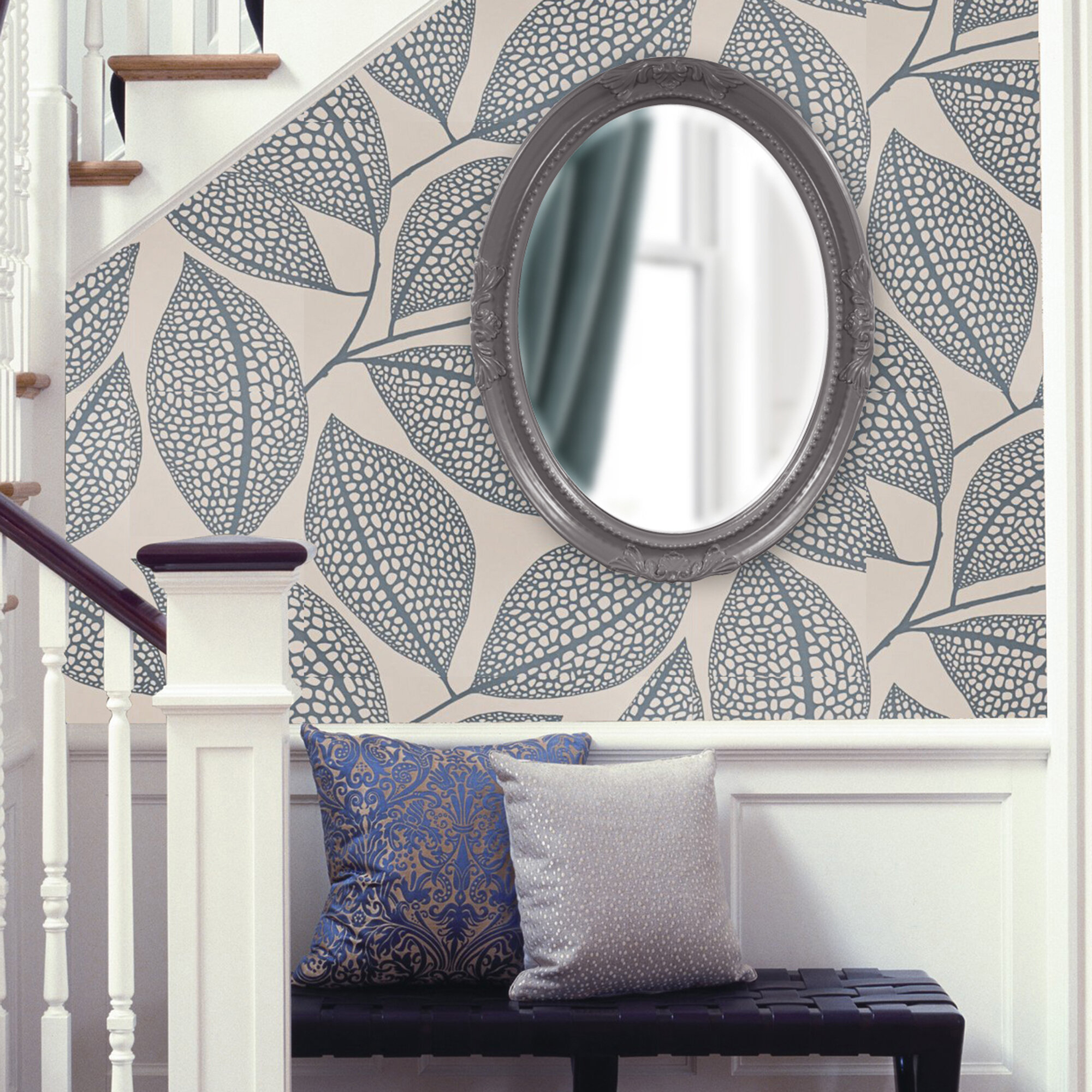 Oval Wood Wall Mirror With Regard To Oval Wood Wall Mirrors (View 20 of 30)