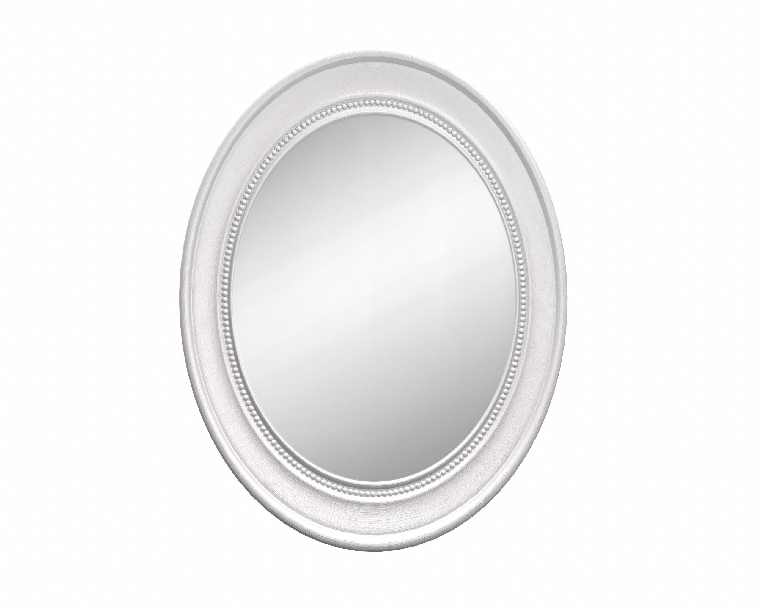 Oval Wooden Wall Mirror | 3D Model Throughout Oval Wood Wall Mirrors (View 21 of 30)