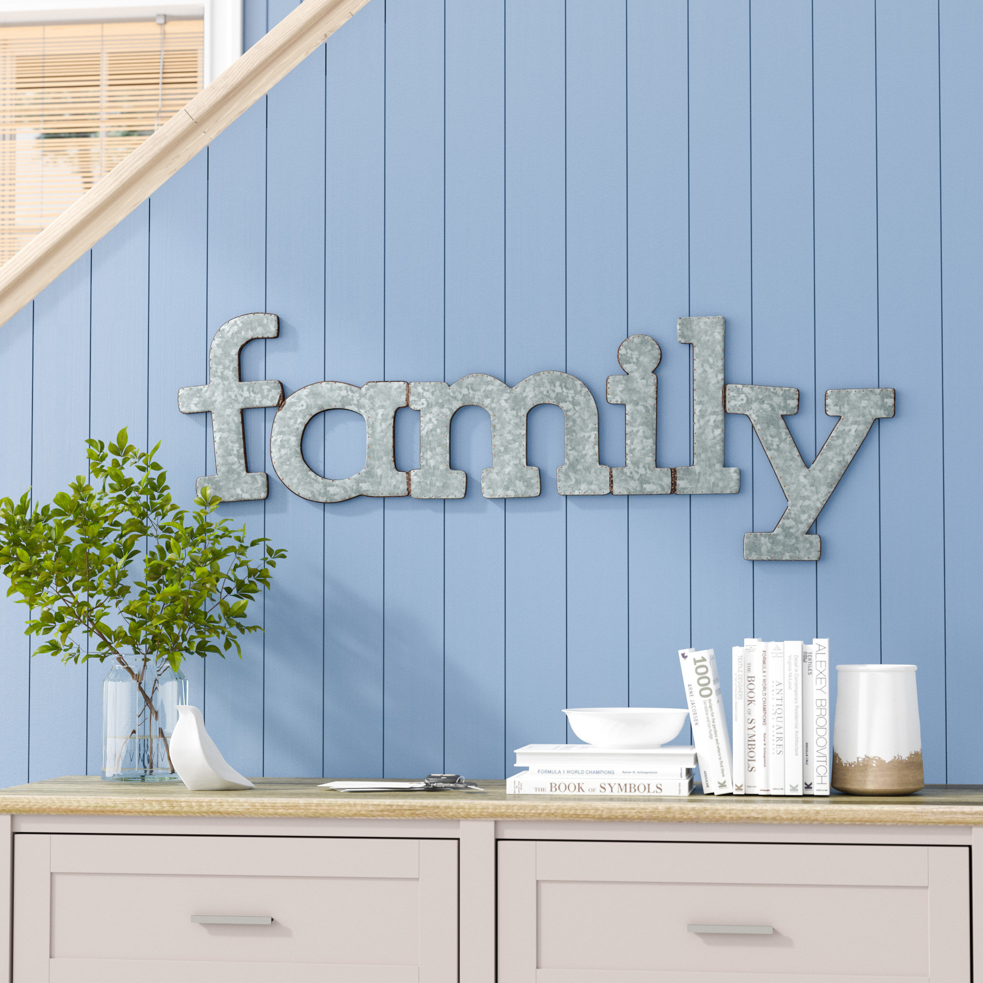 Over The Door Metal Wall Decor | Wayfair for Sign Wall Decor By Charlton Home (Image 24 of 30)