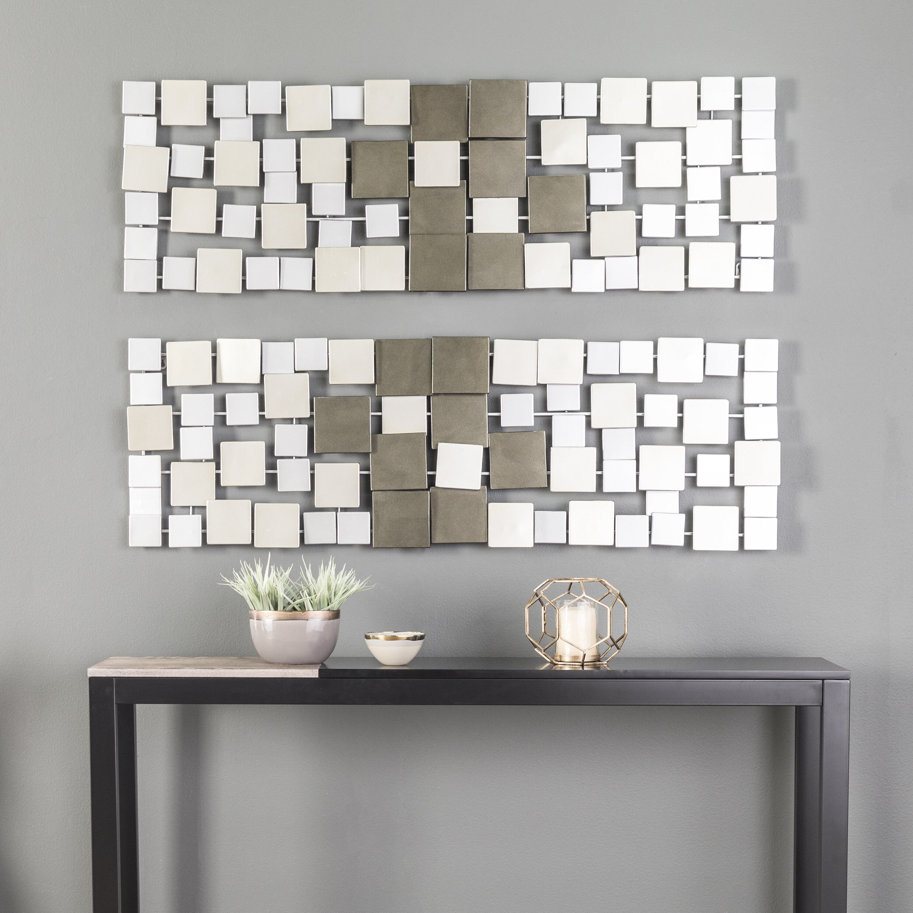 Over The Door Metal Wall Decor | Wayfair With Alvis Traditional Metal Wall Decor (View 8 of 30)